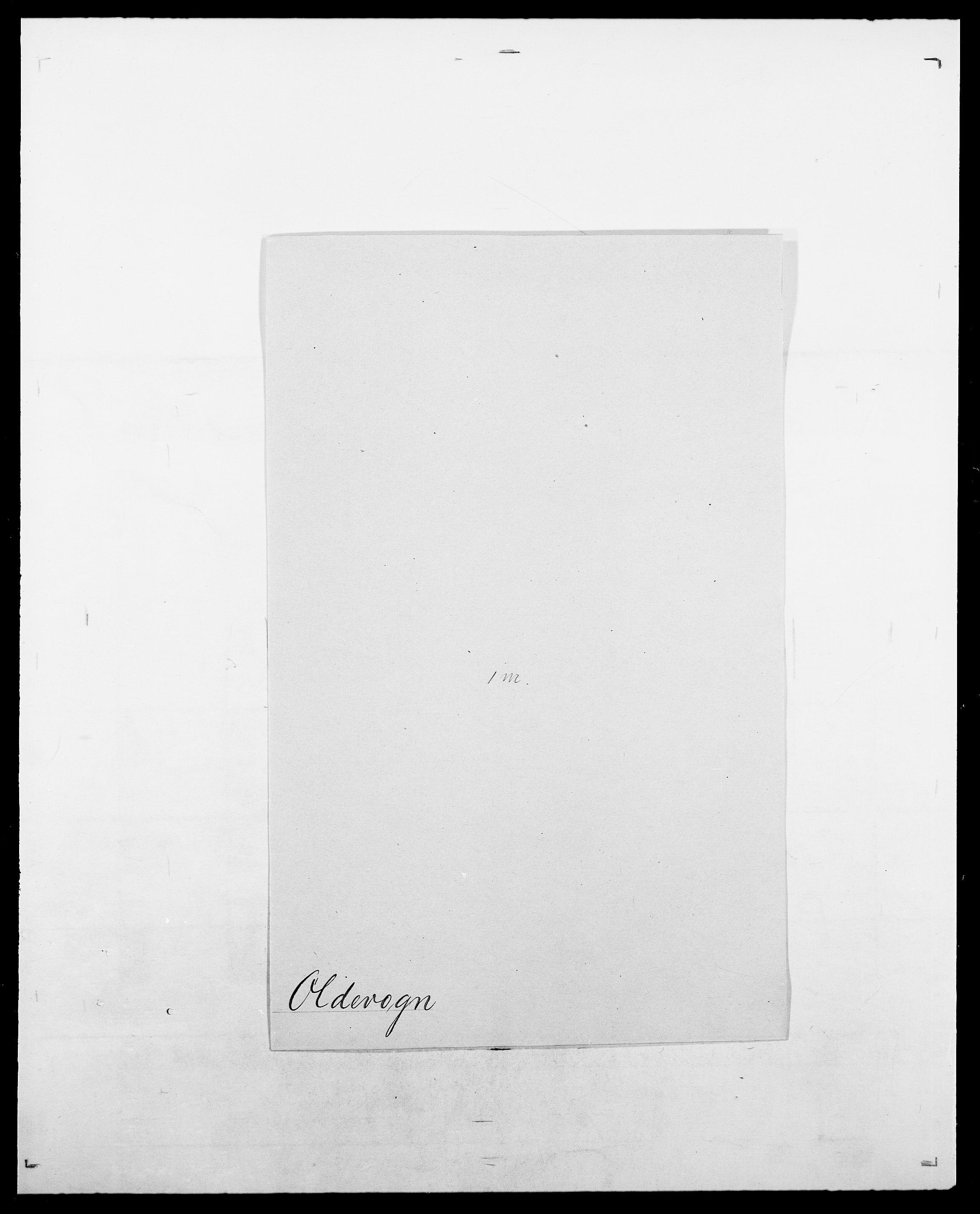 SAO, Delgobe, Charles Antoine - samling, D/Da/L0029: Obel - Oxholm, s. 103