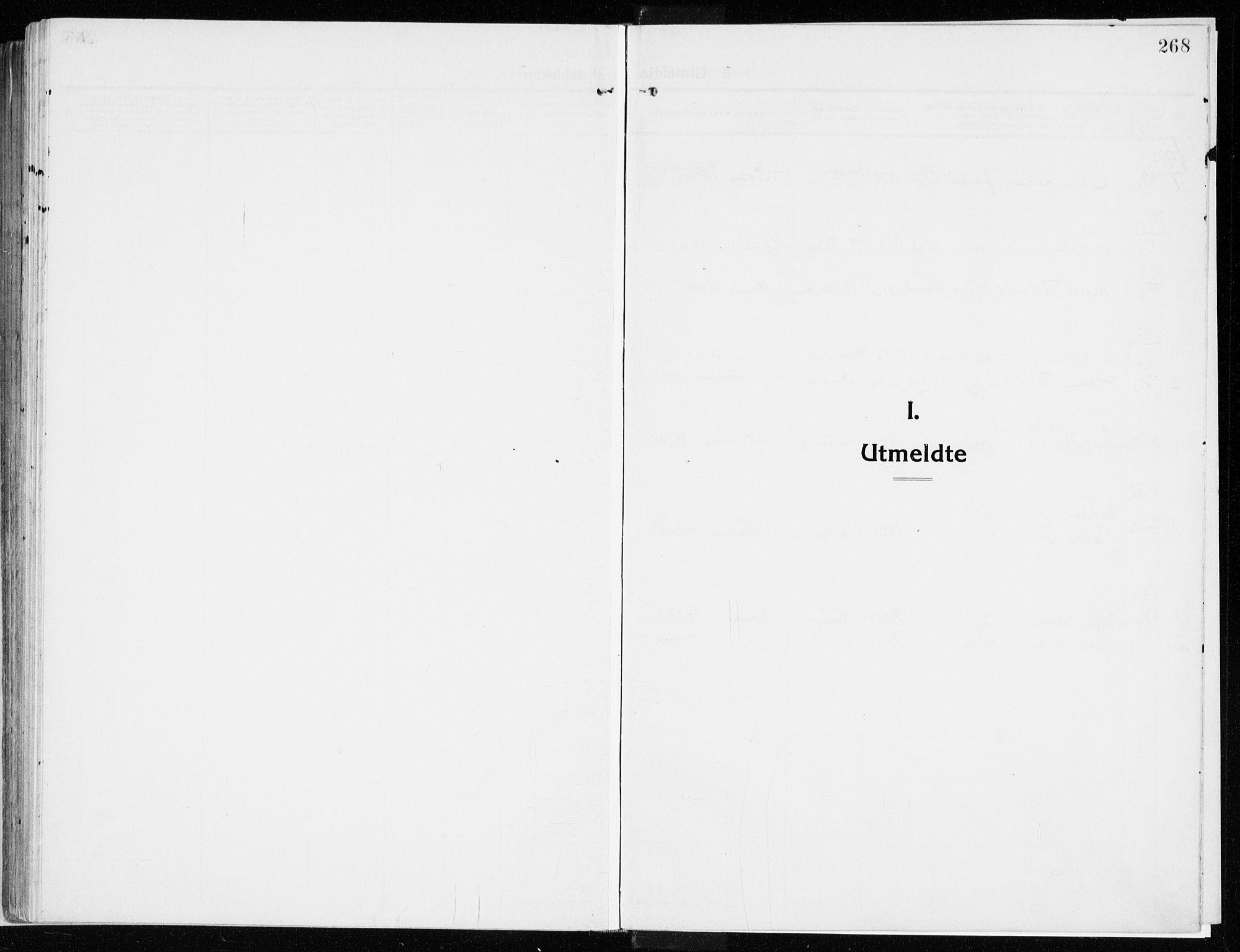 SAH, Vardal prestekontor, H/Ha/Haa/L0017: Ministerialbok nr. 17, 1915-1929, s. 268