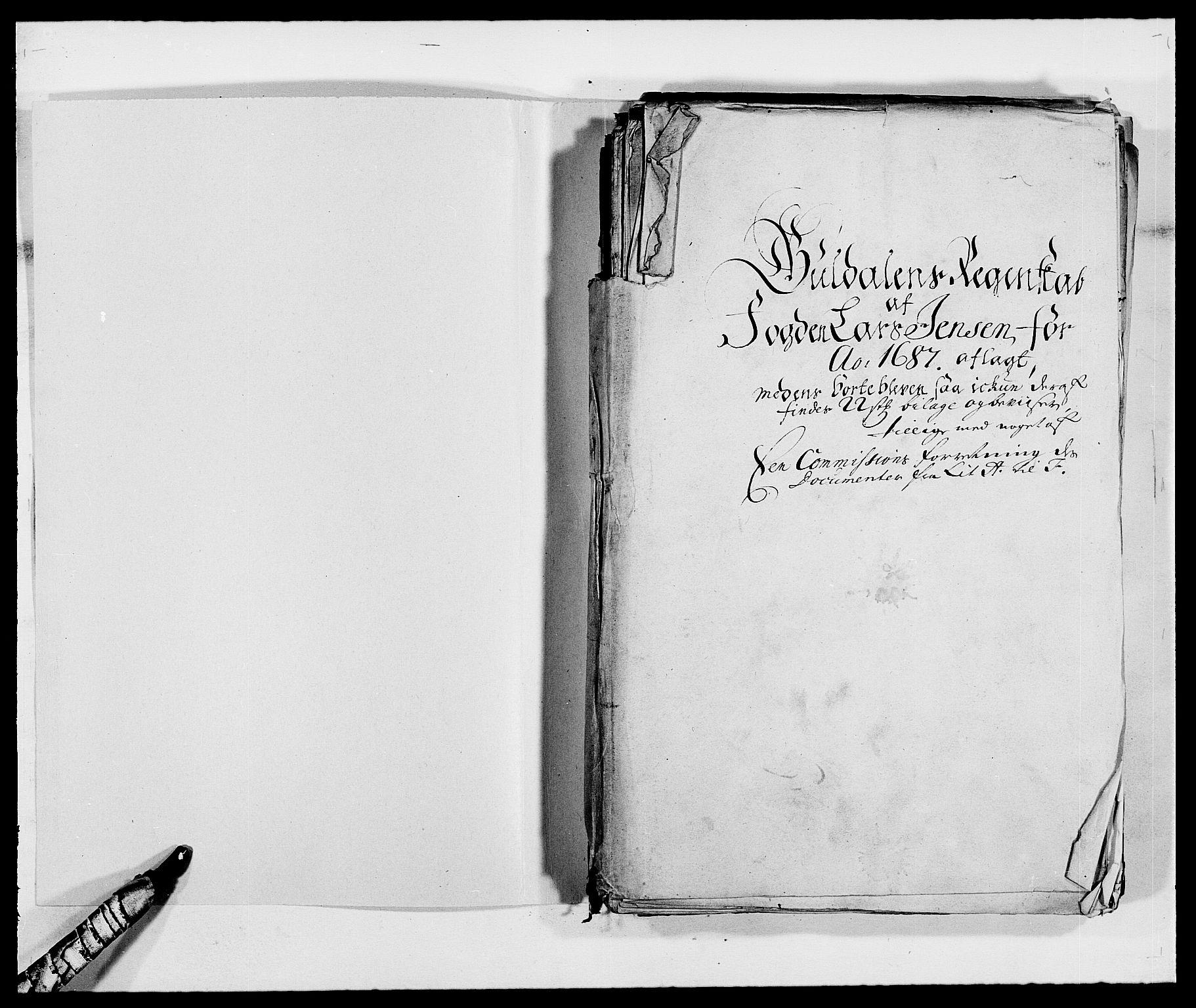 RA, Rentekammeret inntil 1814, Reviderte regnskaper, Fogderegnskap, R59/L3939: Fogderegnskap Gauldal, 1687-1688, s. 2