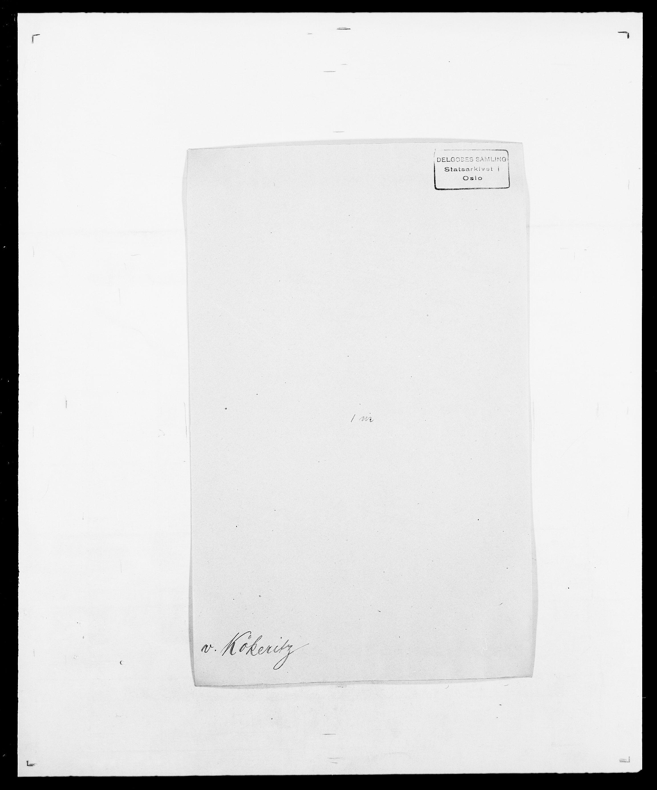 SAO, Delgobe, Charles Antoine - samling, D/Da/L0022: Krog - Lasteen, s. 307