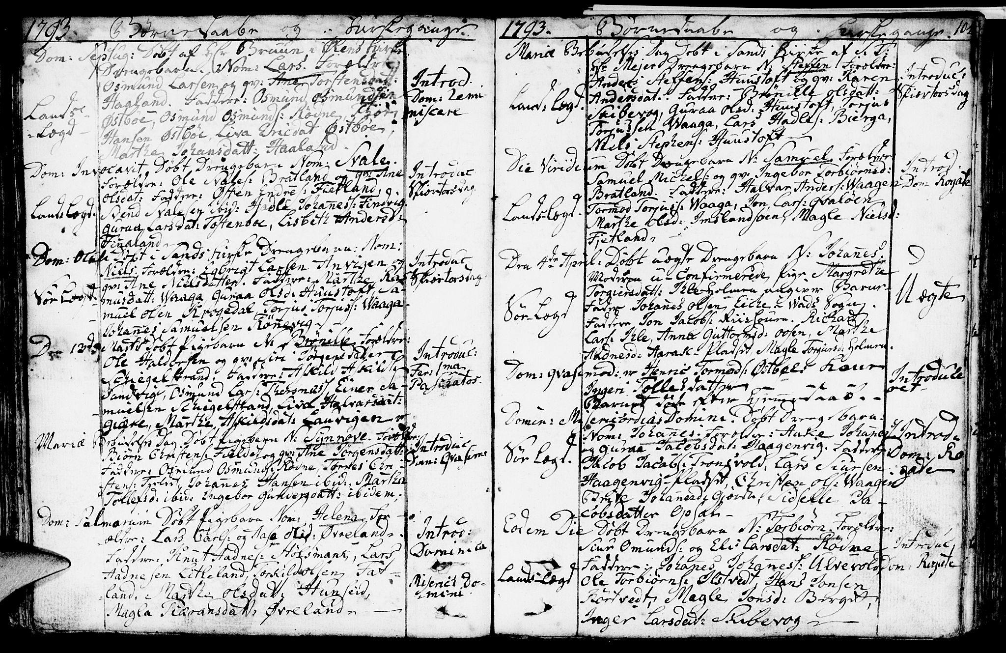 SAST, Vikedal sokneprestkontor, IV: Ministerialbok nr. A 2, 1779-1817, s. 104