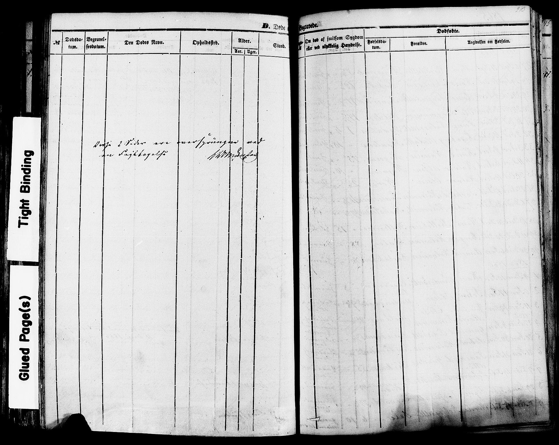 SAKO, Sauherad kirkebøker, F/Fa/L0007: Ministerialbok nr. I 7, 1851-1873, s. 203