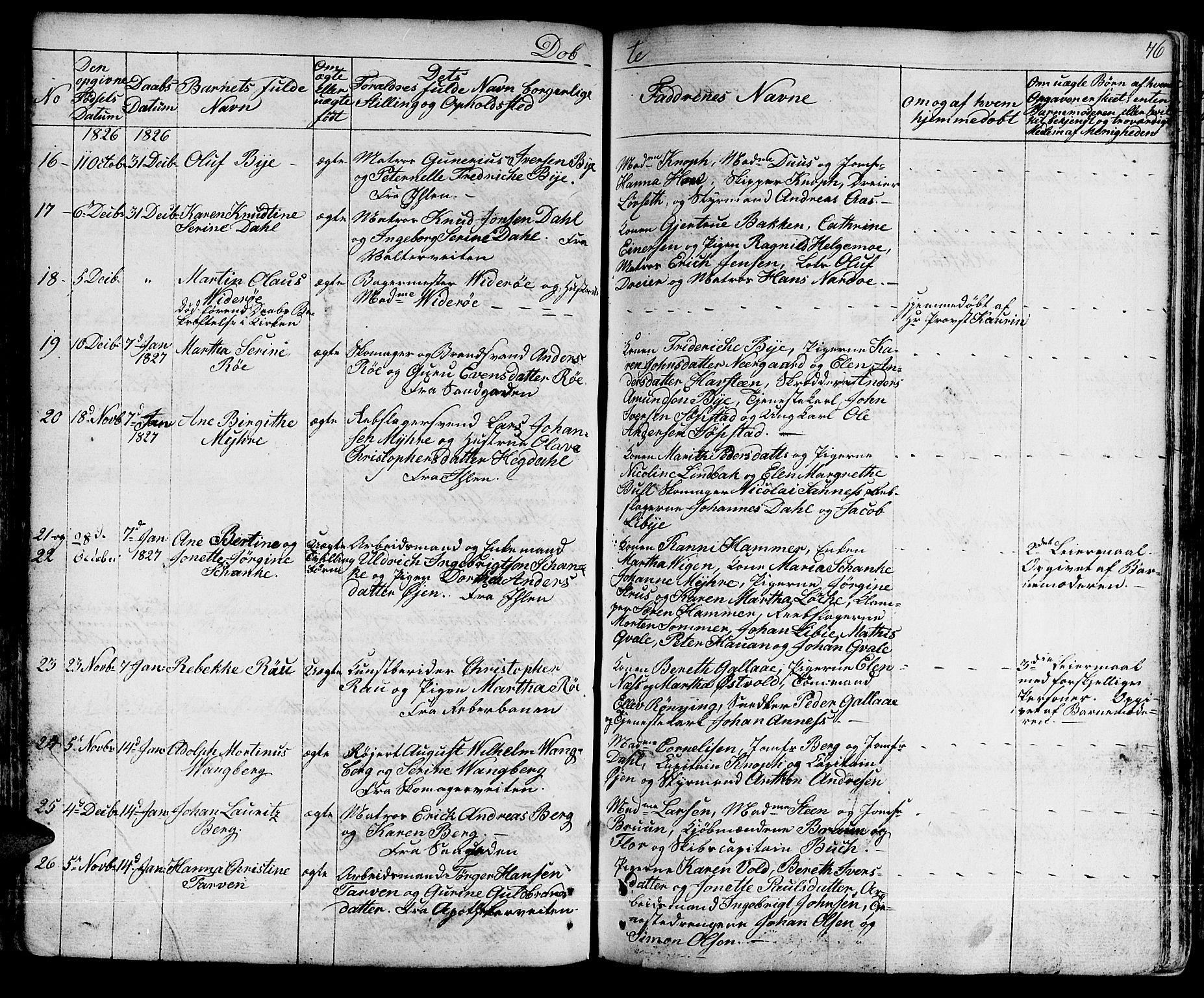 SAT, Ministerialprotokoller, klokkerbøker og fødselsregistre - Sør-Trøndelag, 601/L0045: Ministerialbok nr. 601A13, 1821-1831, s. 76