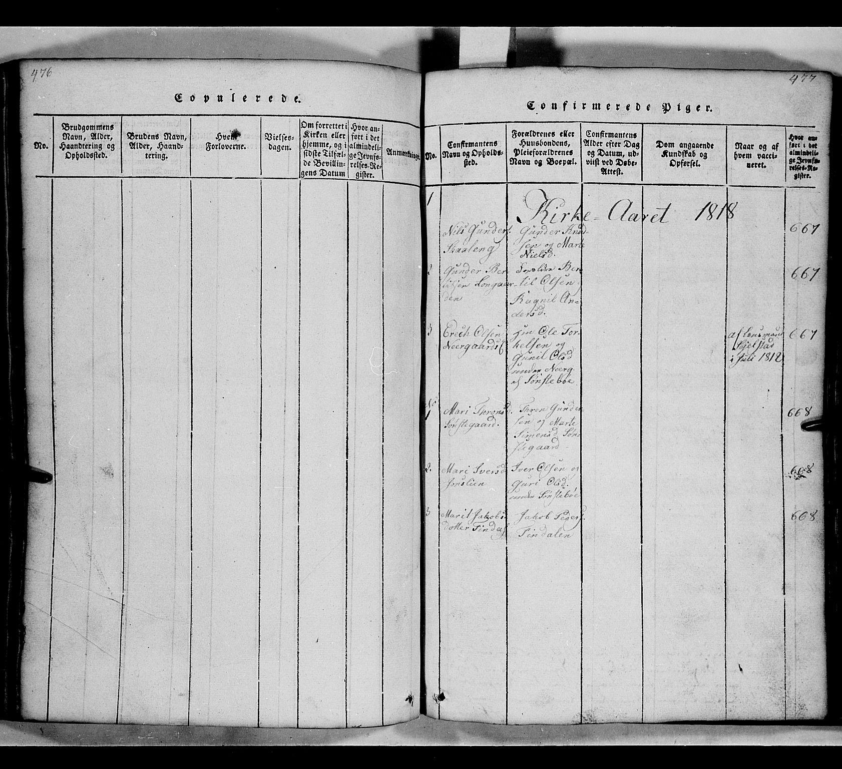 SAH, Gausdal prestekontor, Klokkerbok nr. 2, 1818-1874, s. 476-477