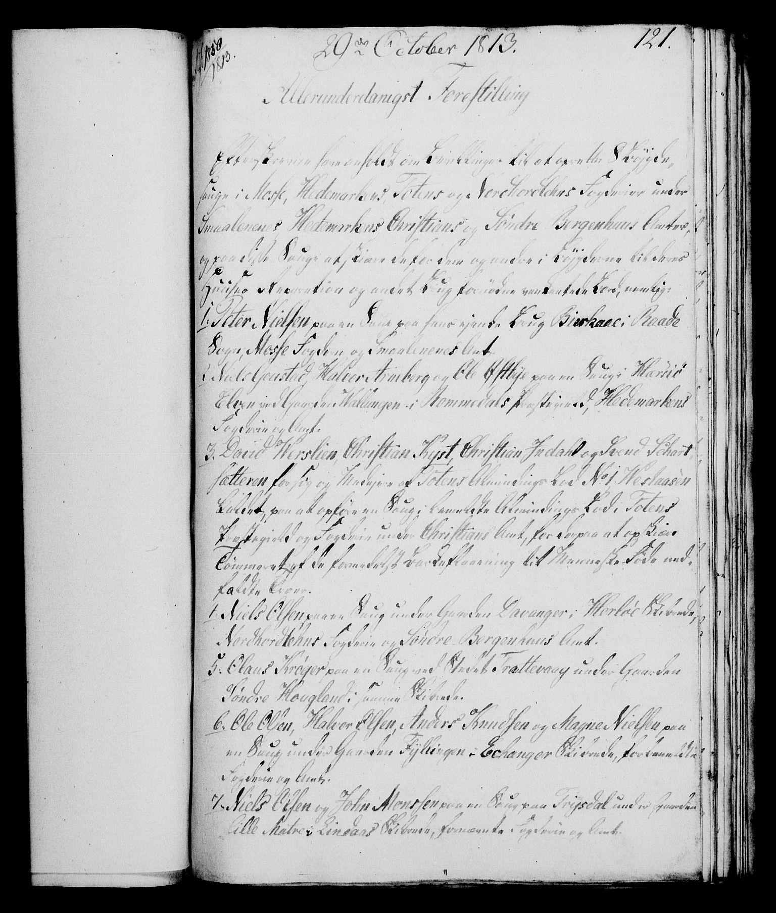 RA, Rentekammeret, Kammerkanselliet, G/Gf/Gfa/L0095: Norsk relasjons- og resolusjonsprotokoll (merket RK 52.95), 1813-1814, s. 496