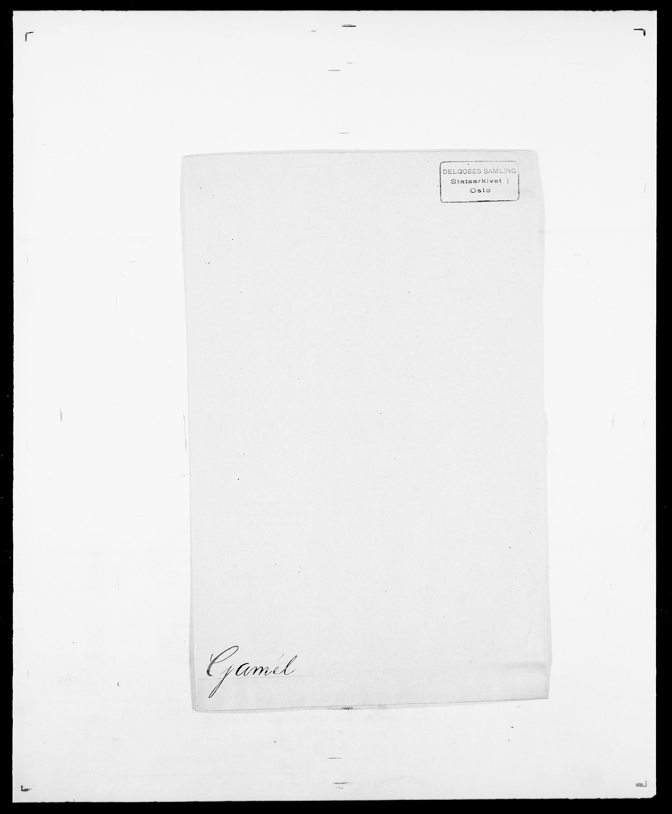 SAO, Delgobe, Charles Antoine - samling, D/Da/L0013: Forbos - Geving, s. 462
