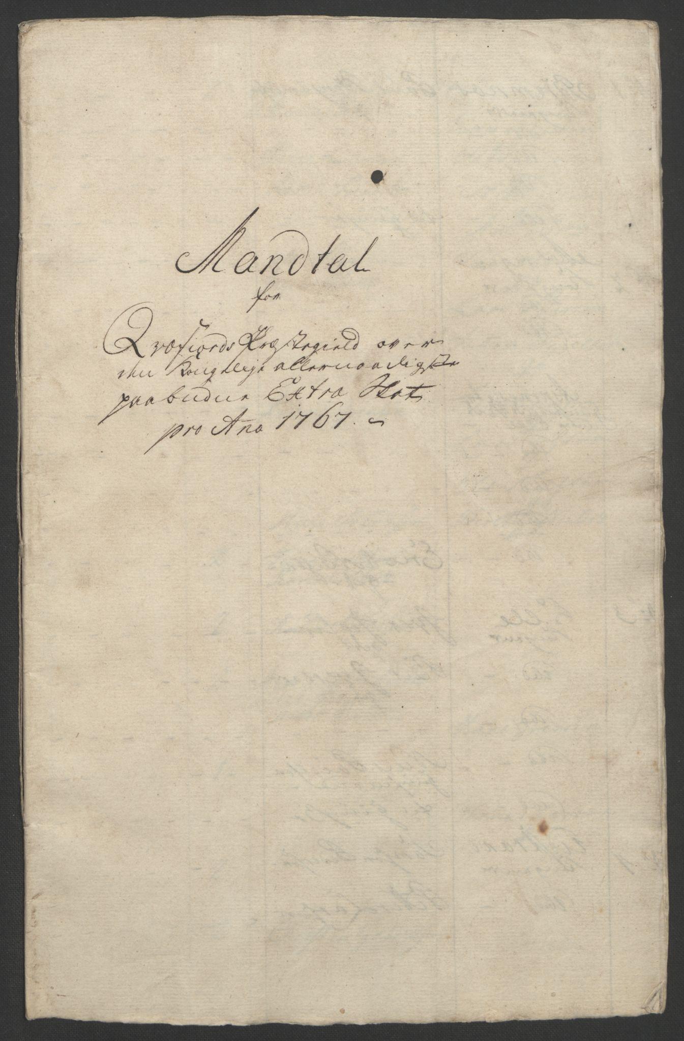 RA, Rentekammeret inntil 1814, Realistisk ordnet avdeling, Ol/L0022b: [Gg 10]: Ekstraskatten, 23.09.1762. Senja og Troms, 1765-1768, s. 138
