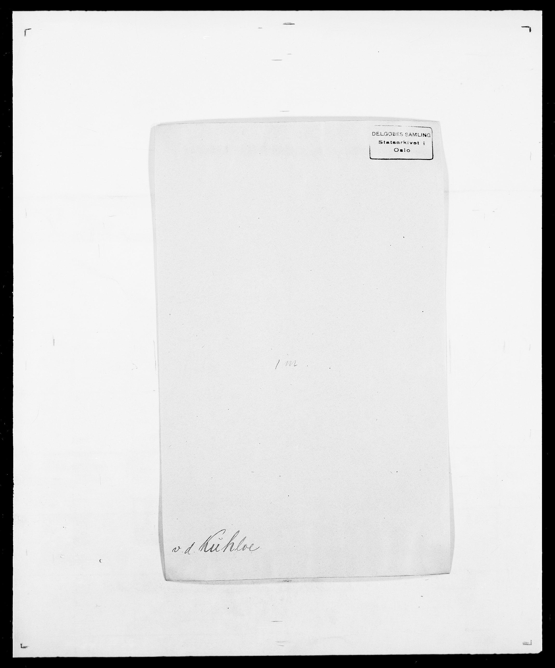 SAO, Delgobe, Charles Antoine - samling, D/Da/L0022: Krog - Lasteen, s. 215