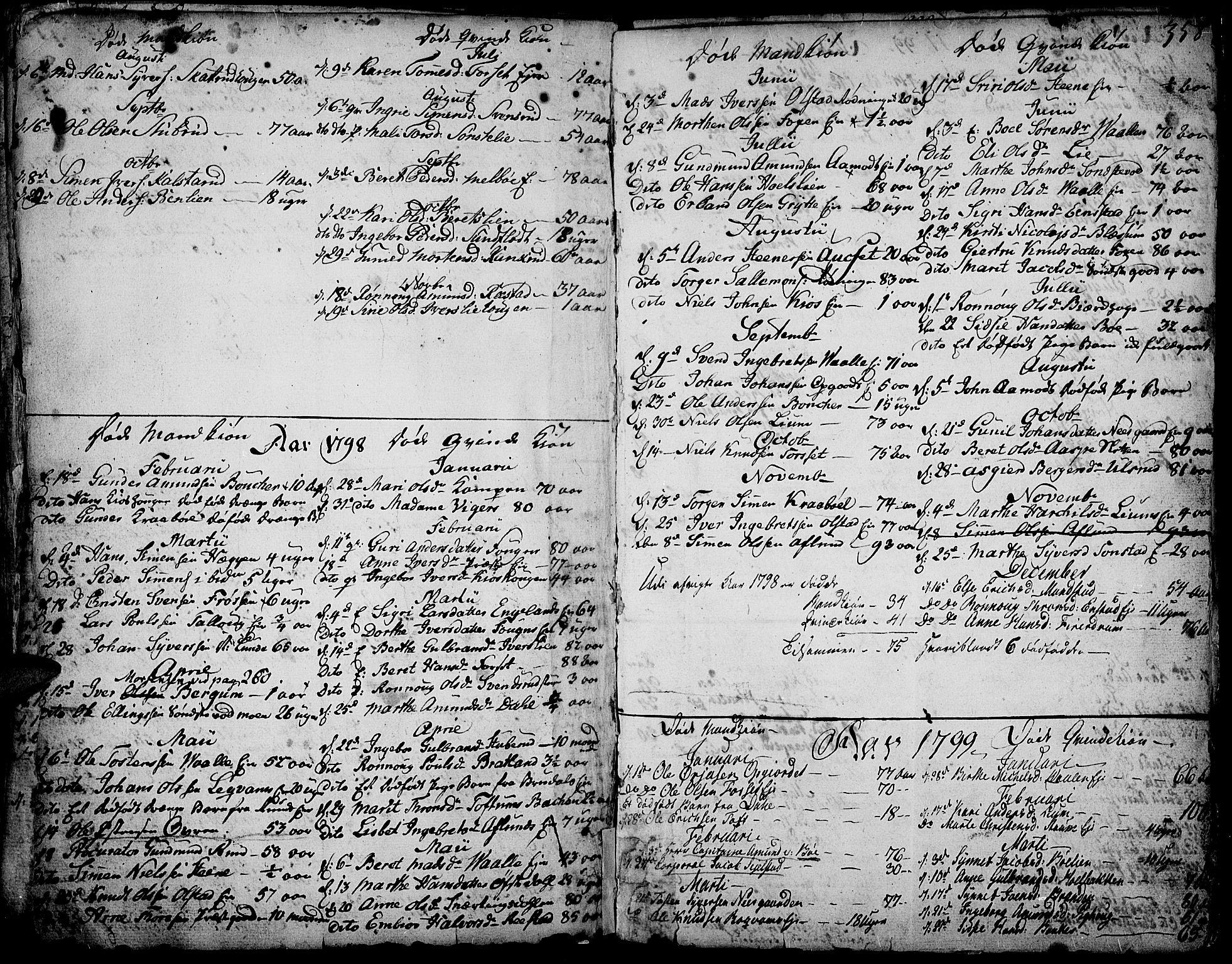 SAH, Gausdal prestekontor, Ministerialbok nr. 3, 1758-1809, s. 358