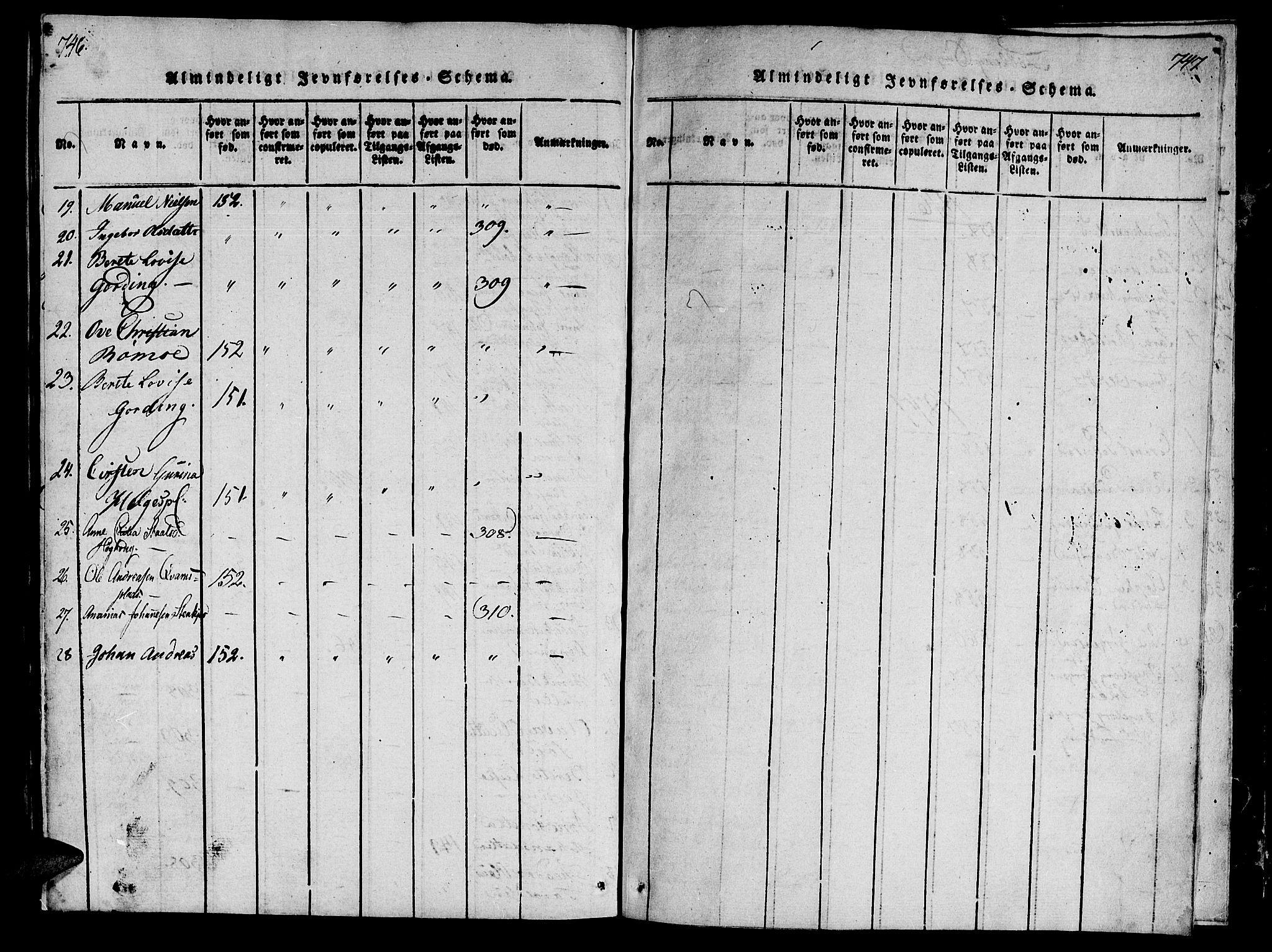 SAT, Ministerialprotokoller, klokkerbøker og fødselsregistre - Nord-Trøndelag, 746/L0441: Ministerialbok nr. 736A03 /3, 1816-1827, s. 746-747