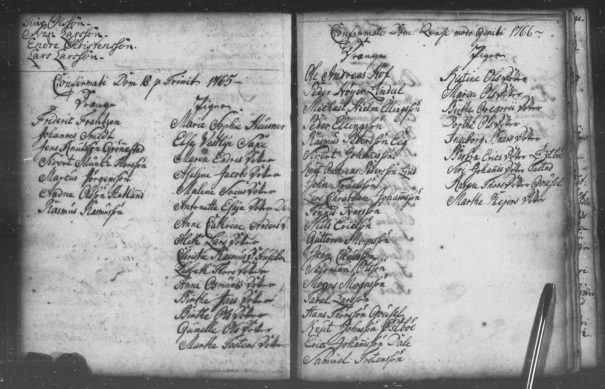 SAST, Domkirken sokneprestkontor, 30/30BB/L0005: Klokkerbok nr. B 5/ 1, 1760-1766