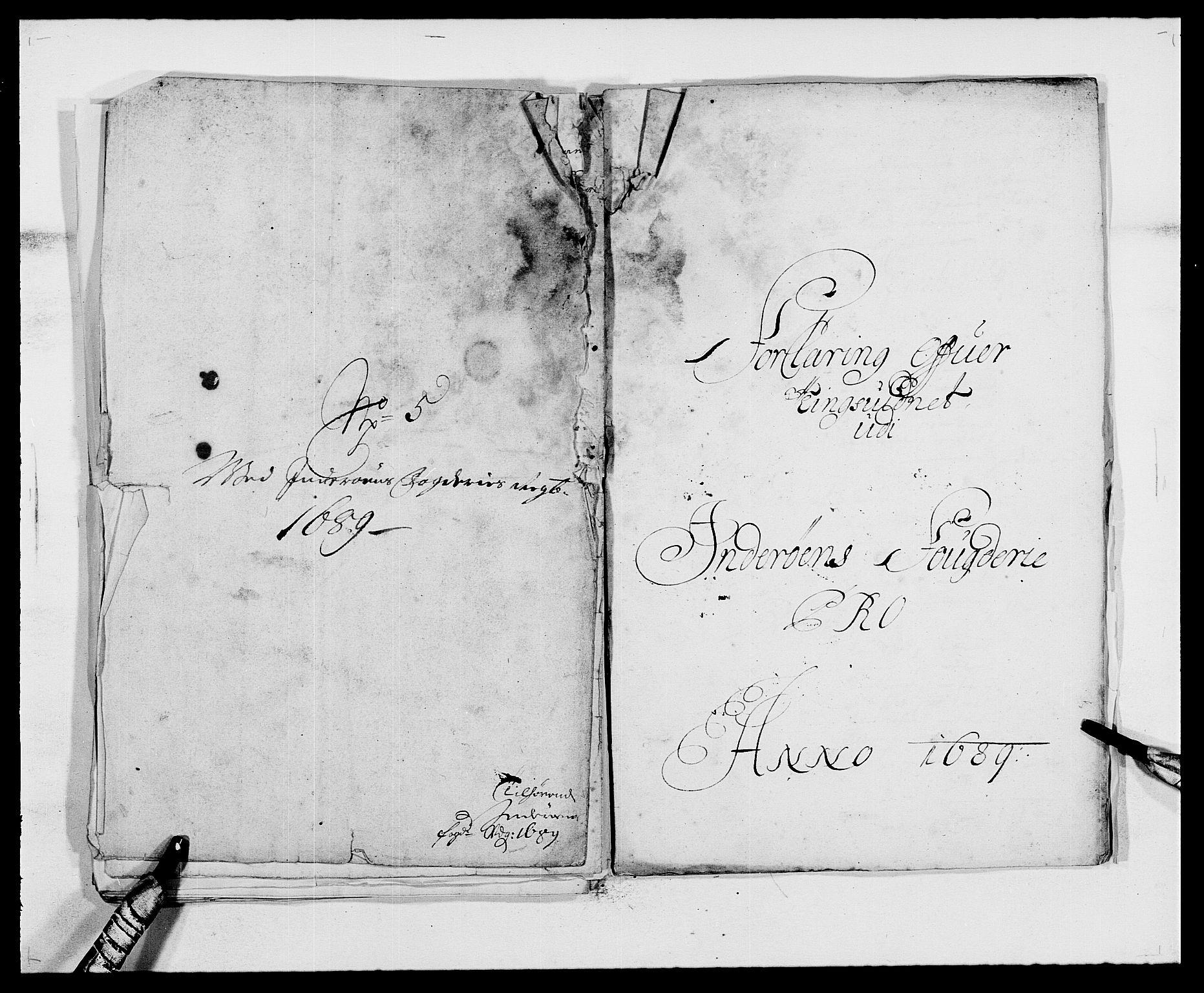 RA, Rentekammeret inntil 1814, Reviderte regnskaper, Fogderegnskap, R63/L4306: Fogderegnskap Inderøy, 1687-1689, s. 514