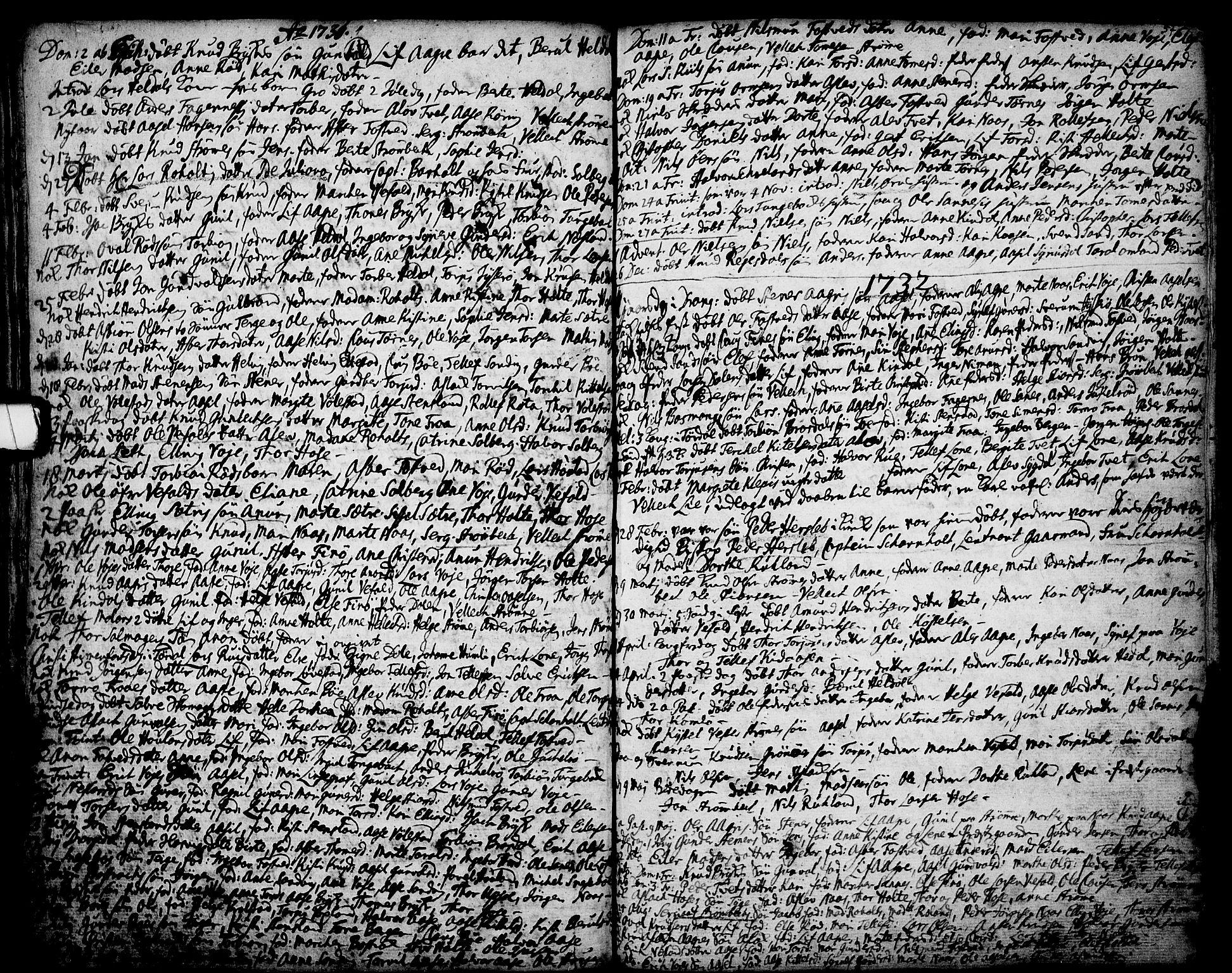 SAKO, Drangedal kirkebøker, F/Fa/L0001: Ministerialbok nr. 1, 1697-1767, s. 57