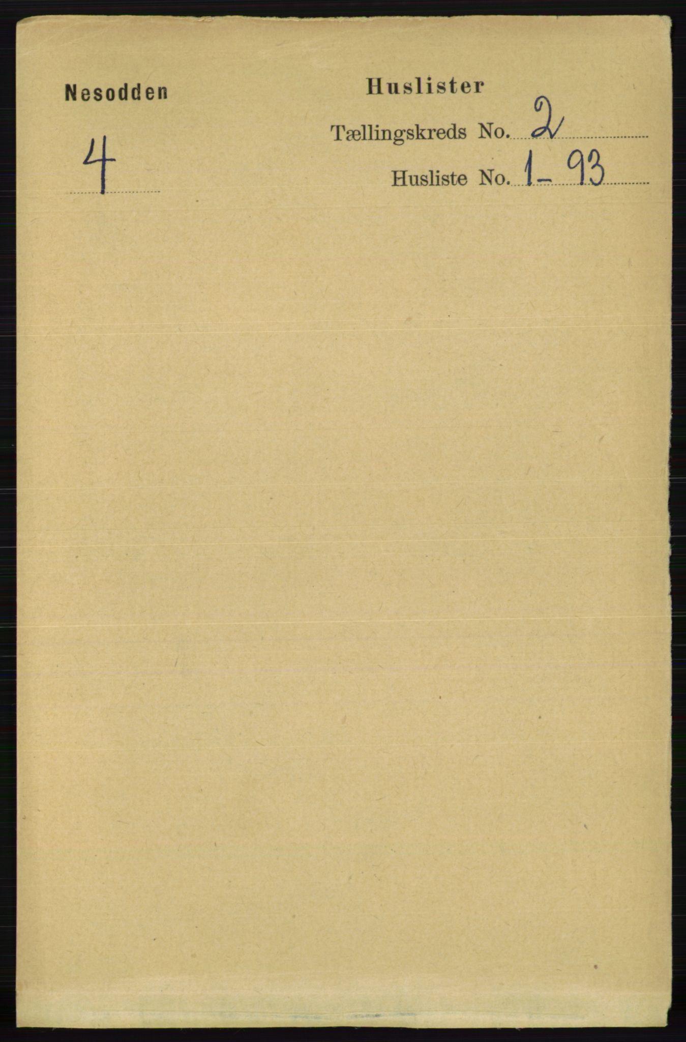 RA, Folketelling 1891 for 0216 Nesodden herred, 1891, s. 385
