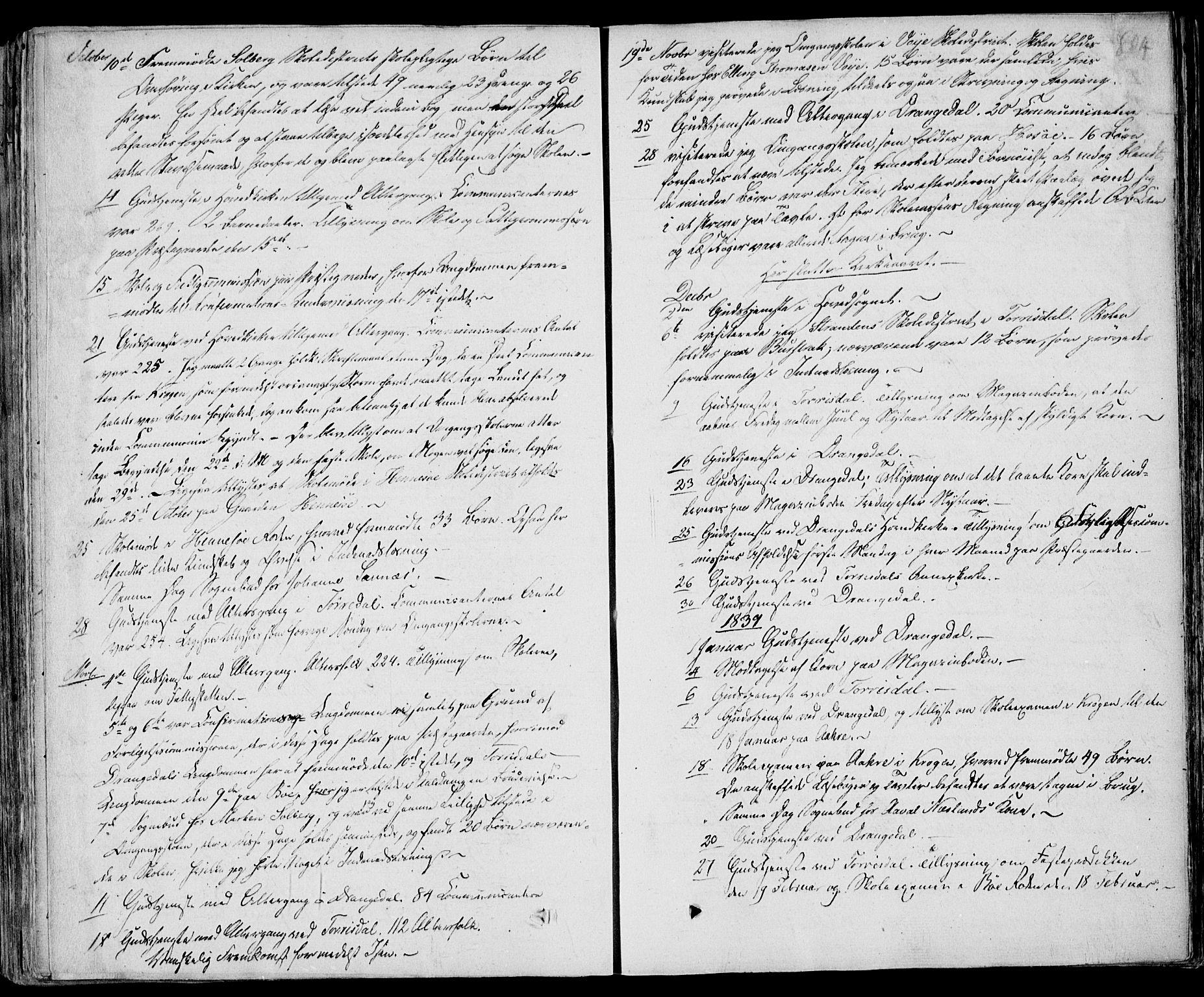 SAKO, Drangedal kirkebøker, F/Fa/L0007b: Ministerialbok nr. 7b, 1837-1856, s. 804