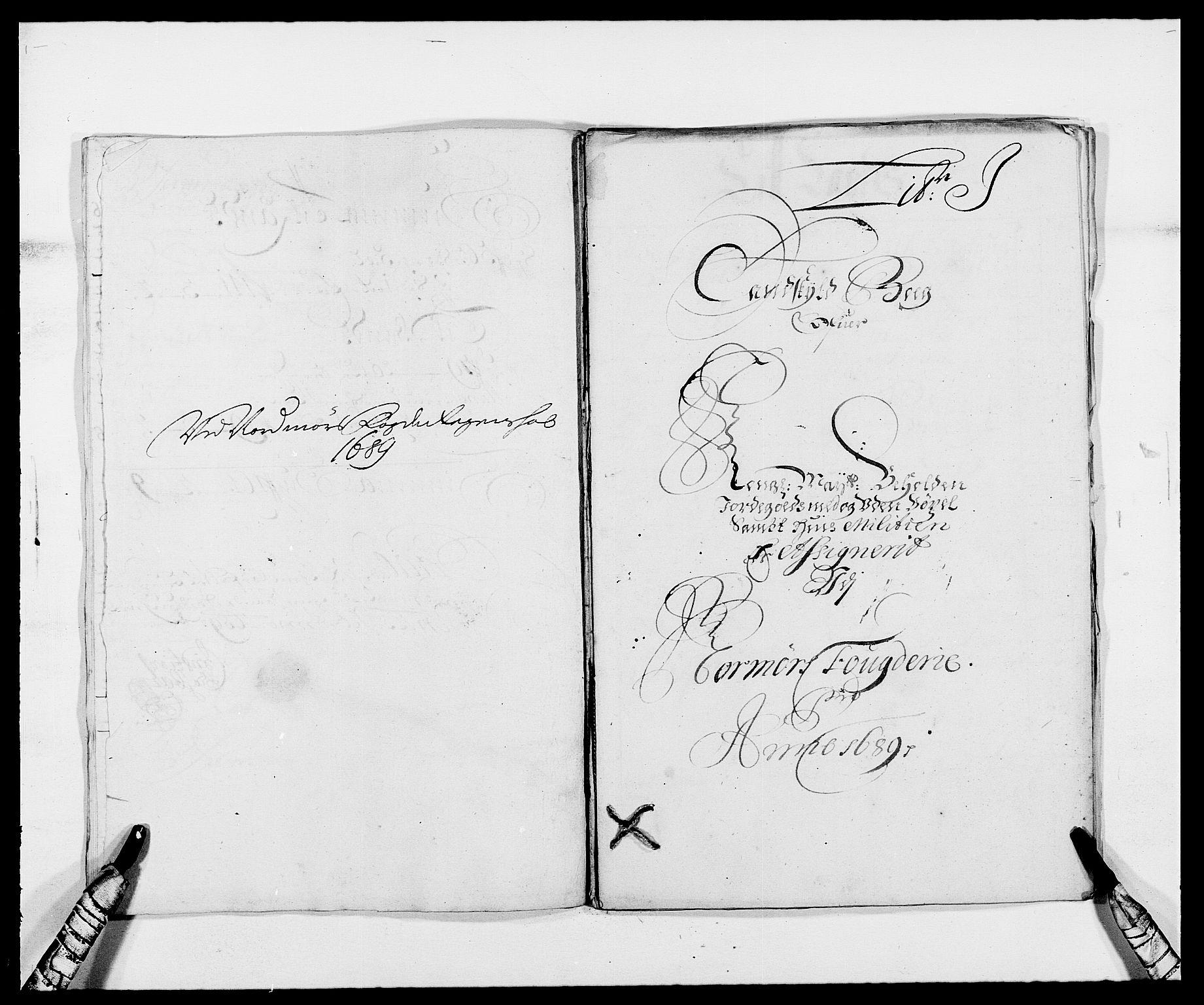 RA, Rentekammeret inntil 1814, Reviderte regnskaper, Fogderegnskap, R56/L3733: Fogderegnskap Nordmøre, 1687-1689, s. 412