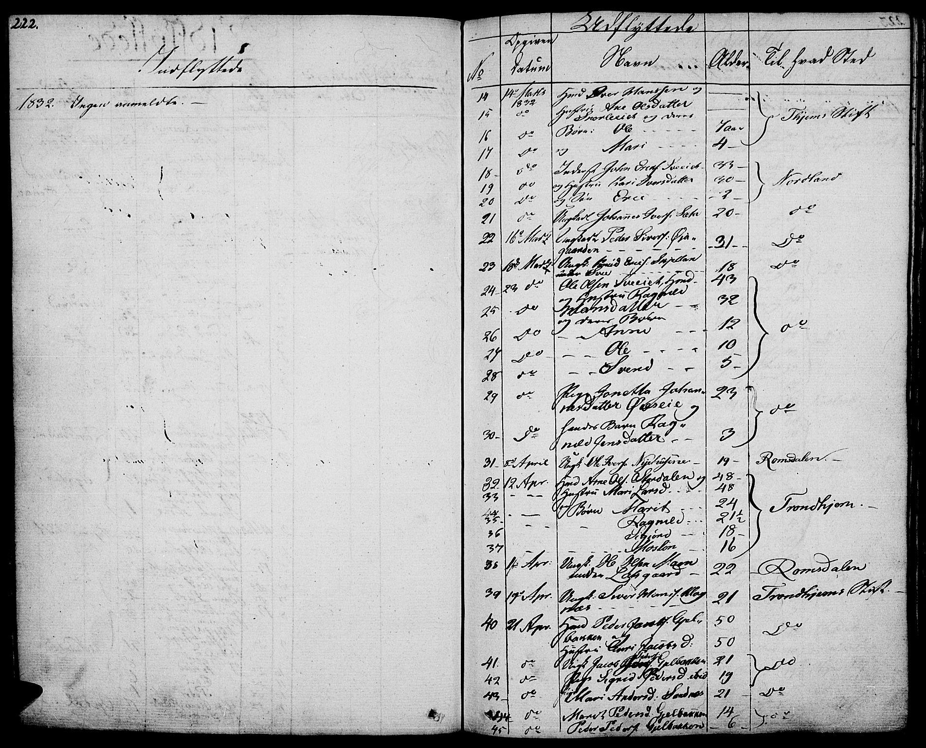 SAH, Vågå prestekontor, Ministerialbok nr. 4 /1, 1827-1842, s. 222