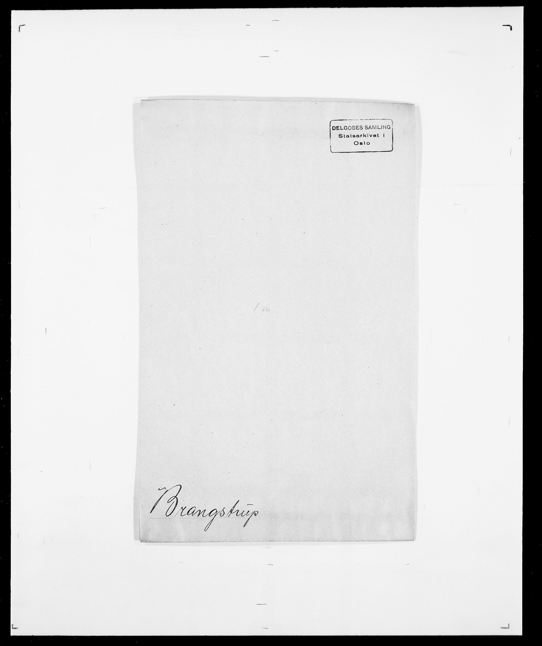 SAO, Delgobe, Charles Antoine - samling, D/Da/L0006: Brambani - Brønø, s. 165