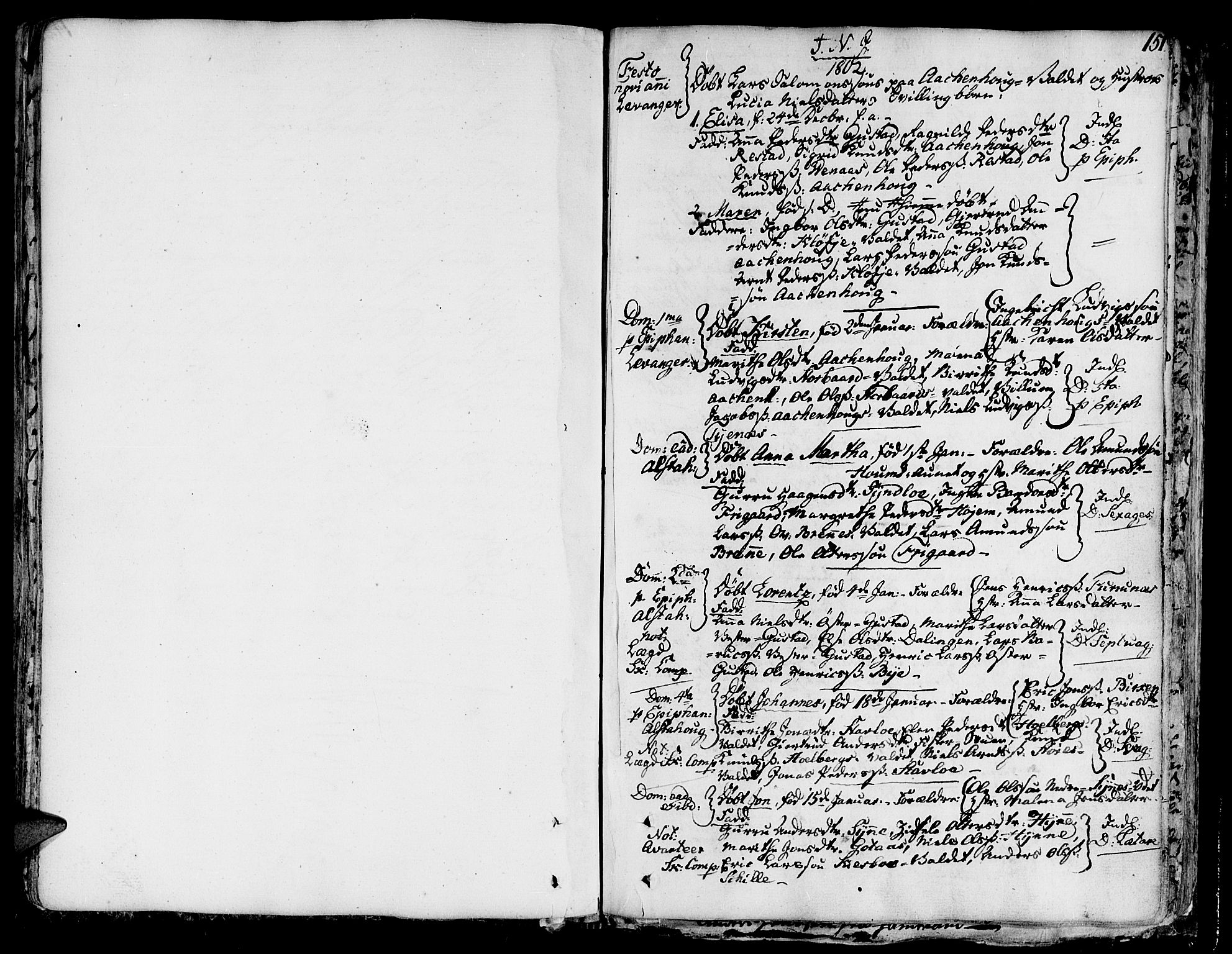 SAT, Ministerialprotokoller, klokkerbøker og fødselsregistre - Nord-Trøndelag, 717/L0142: Ministerialbok nr. 717A02 /1, 1783-1809, s. 151