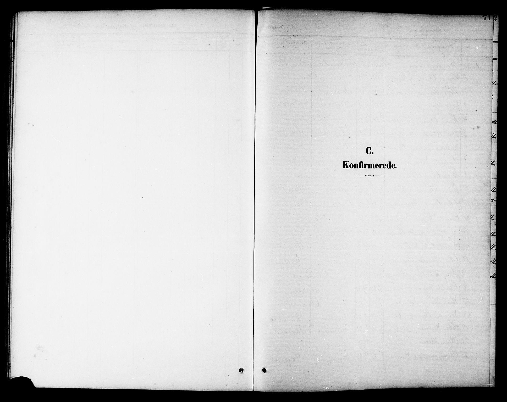 SAT, Ministerialprotokoller, klokkerbøker og fødselsregistre - Nord-Trøndelag, 741/L0401: Klokkerbok nr. 741C02, 1899-1911, s. 71
