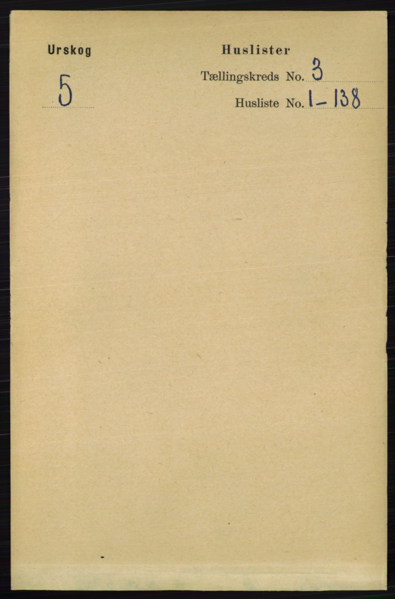 RA, Folketelling 1891 for 0224 Aurskog herred, 1891, s. 357