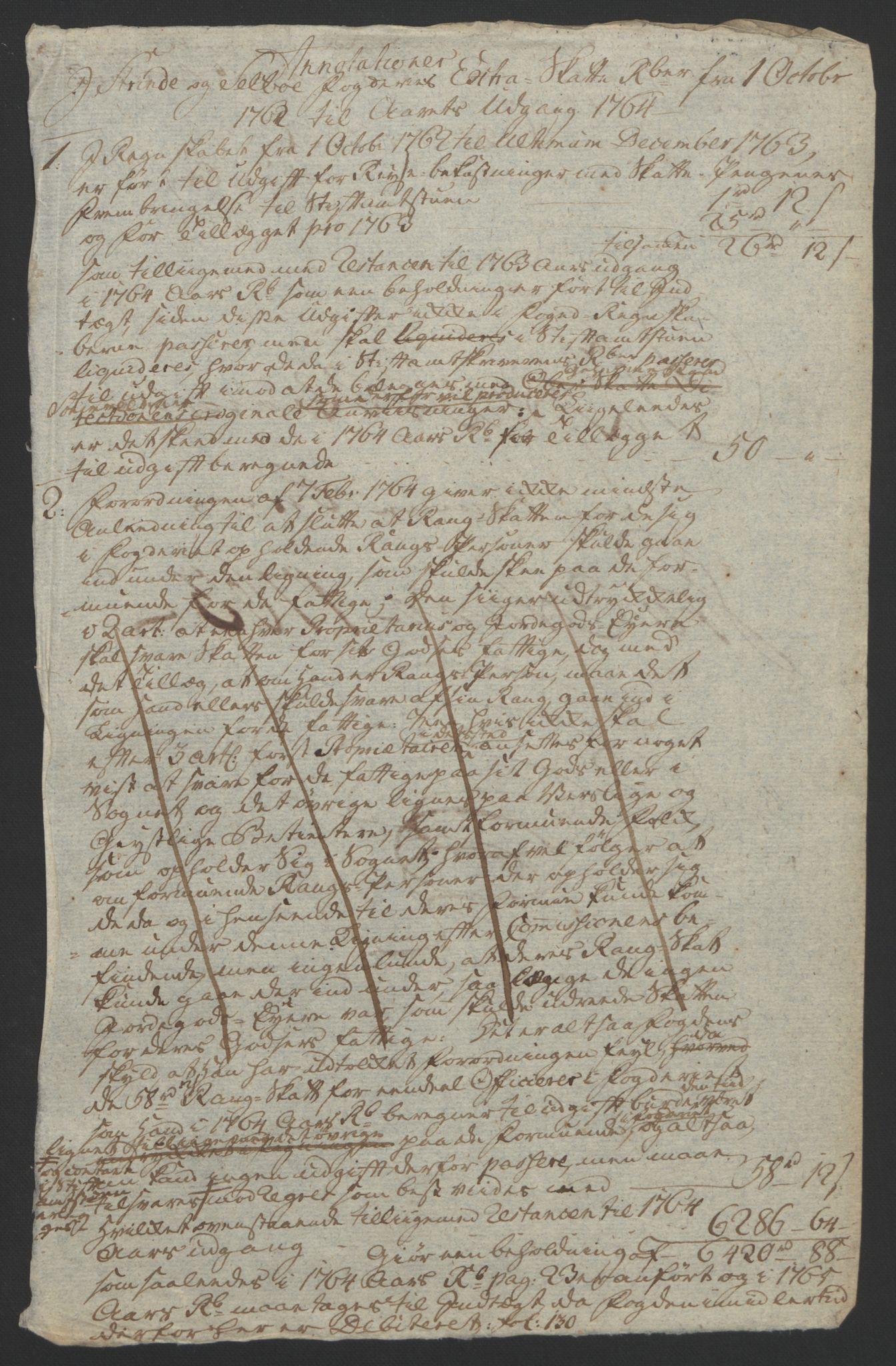 RA, Rentekammeret inntil 1814, Reviderte regnskaper, Fogderegnskap, R61/L4180: Ekstraskatten Strinda og Selbu, 1762-1767, s. 67