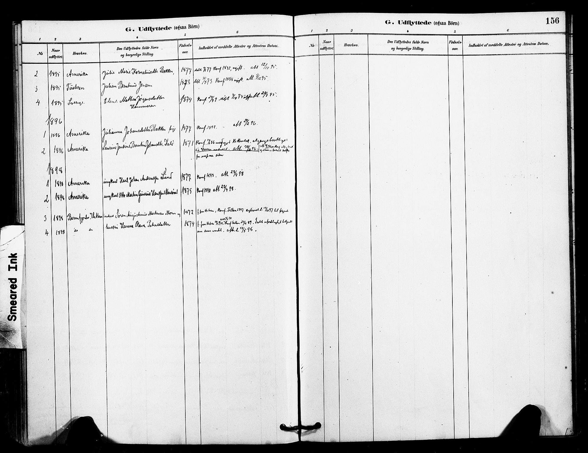 SAT, Ministerialprotokoller, klokkerbøker og fødselsregistre - Sør-Trøndelag, 641/L0595: Ministerialbok nr. 641A01, 1882-1897, s. 156