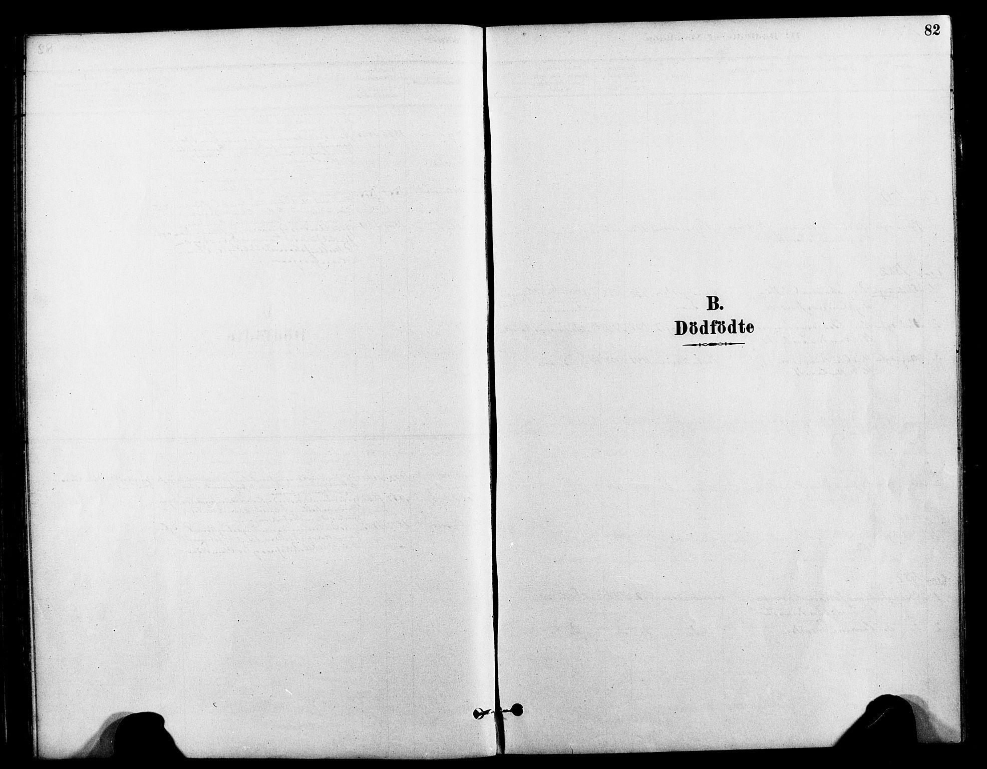 SAT, Ministerialprotokoller, klokkerbøker og fødselsregistre - Nord-Trøndelag, 712/L0100: Ministerialbok nr. 712A01, 1880-1900, s. 82