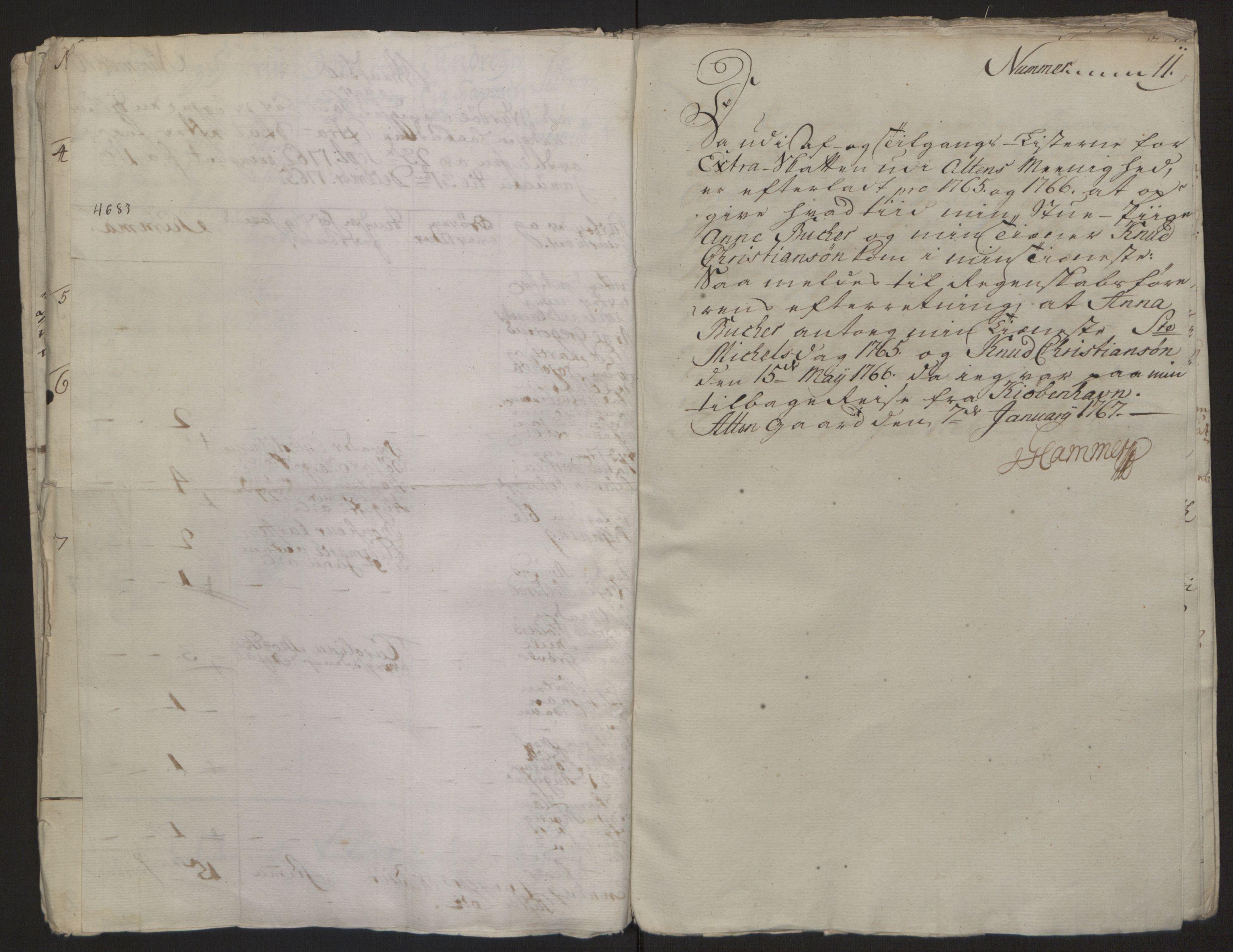 RA, Rentekammeret inntil 1814, Reviderte regnskaper, Fogderegnskap, R69/L4910: Ekstraskatten  Finnmark/Vardøhus, 1762-1772, s. 153