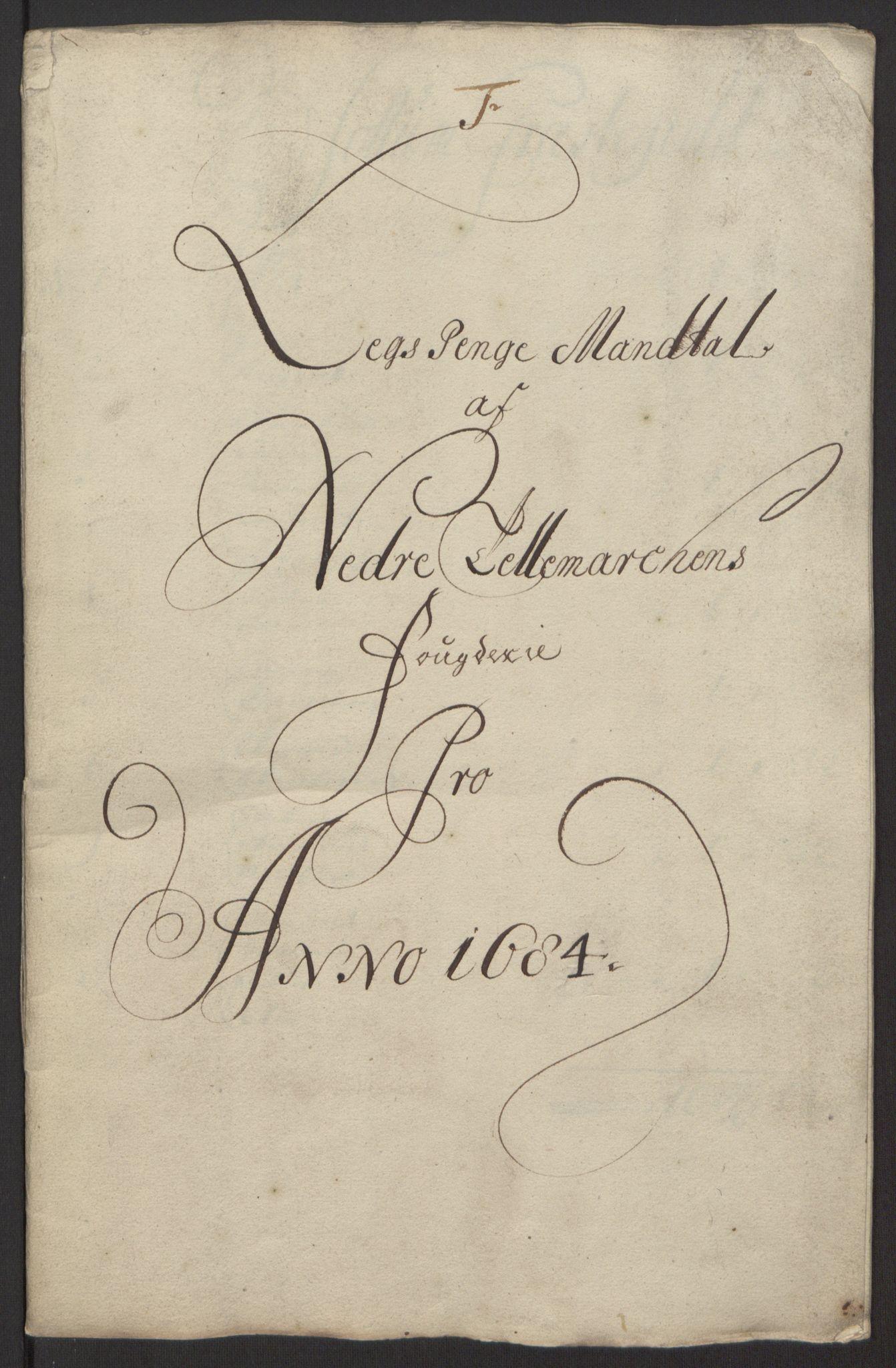 RA, Rentekammeret inntil 1814, Reviderte regnskaper, Fogderegnskap, R35/L2081: Fogderegnskap Øvre og Nedre Telemark, 1680-1684, s. 122