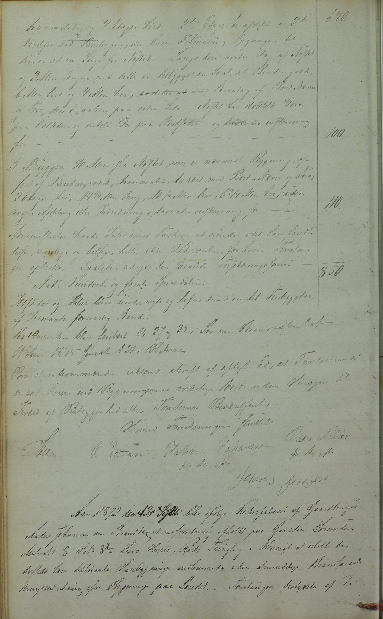 AIN, Lurøy kommune. Formannskapet, 100/L0001: Møtebok, 1836-1898, s. 61b