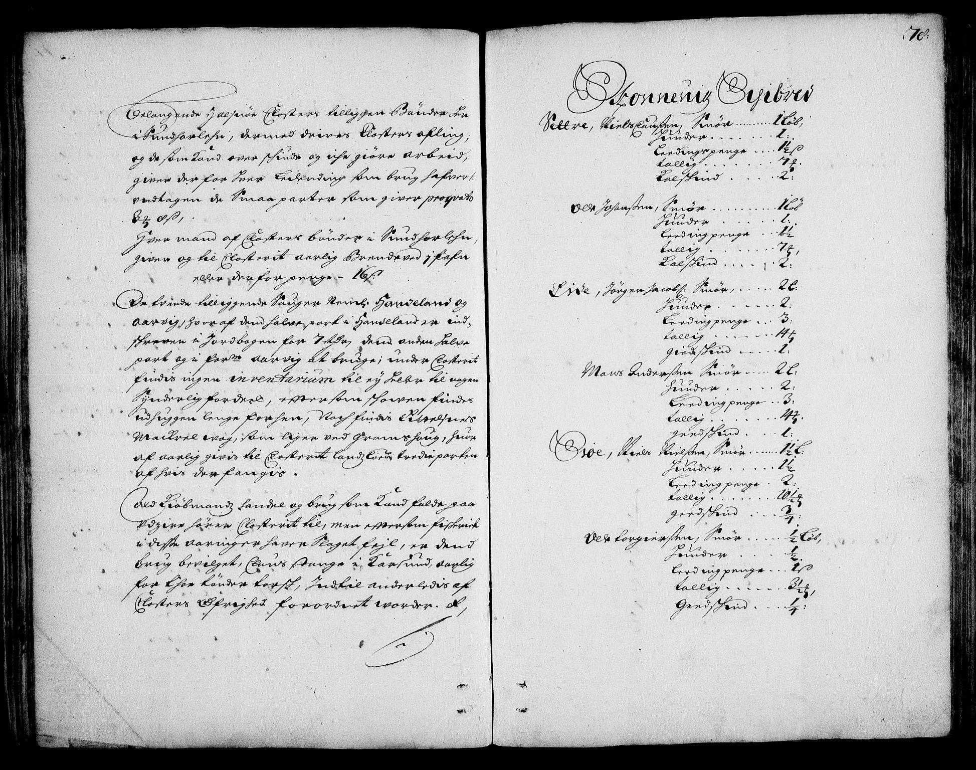 RA, Rentekammeret inntil 1814, Realistisk ordnet avdeling, On/L0002: [Jj 3]: Besiktigelsesforretninger over Halsnøy klosters gods, 1659-1703, s. 77b-78a