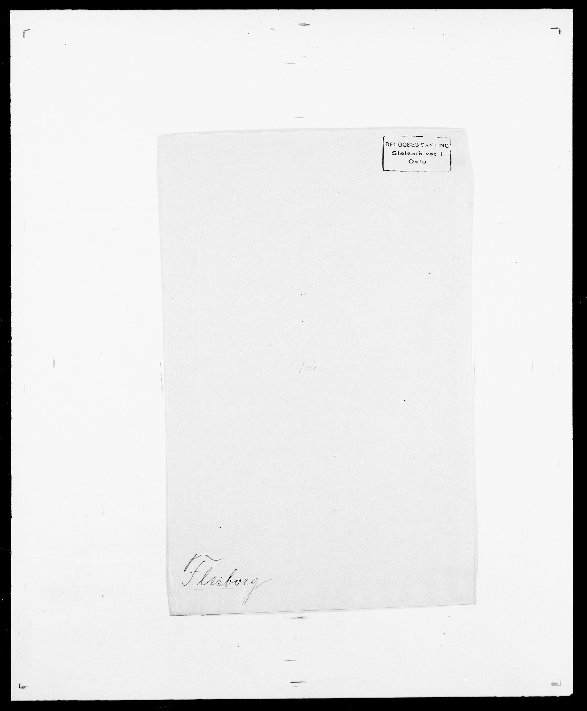SAO, Delgobe, Charles Antoine - samling, D/Da/L0011: Fahlander - Flood, Flod, s. 627