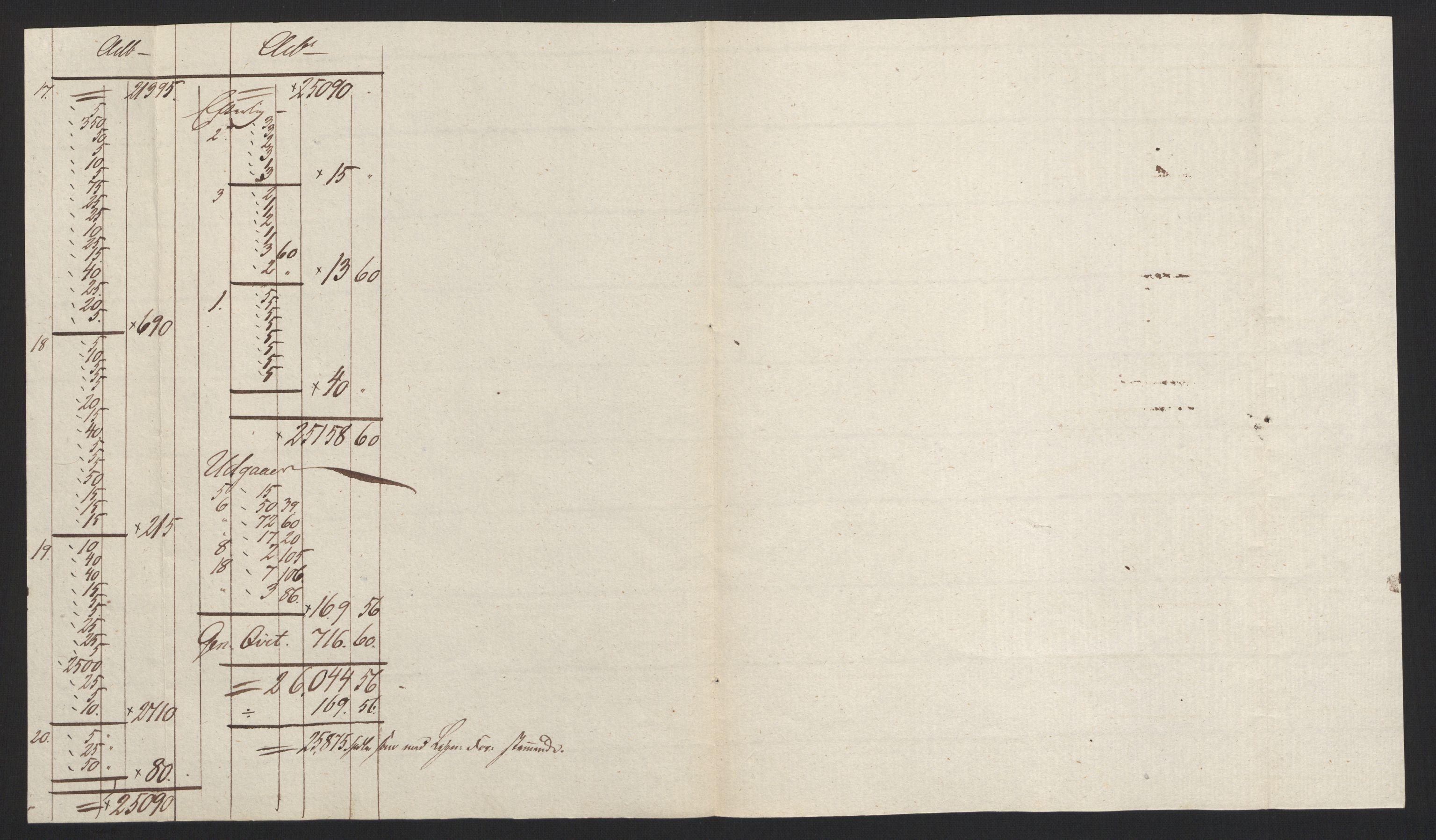 NOBA, Norges Bank/Sølvskatten 1816*, 1816-1822, s. 3