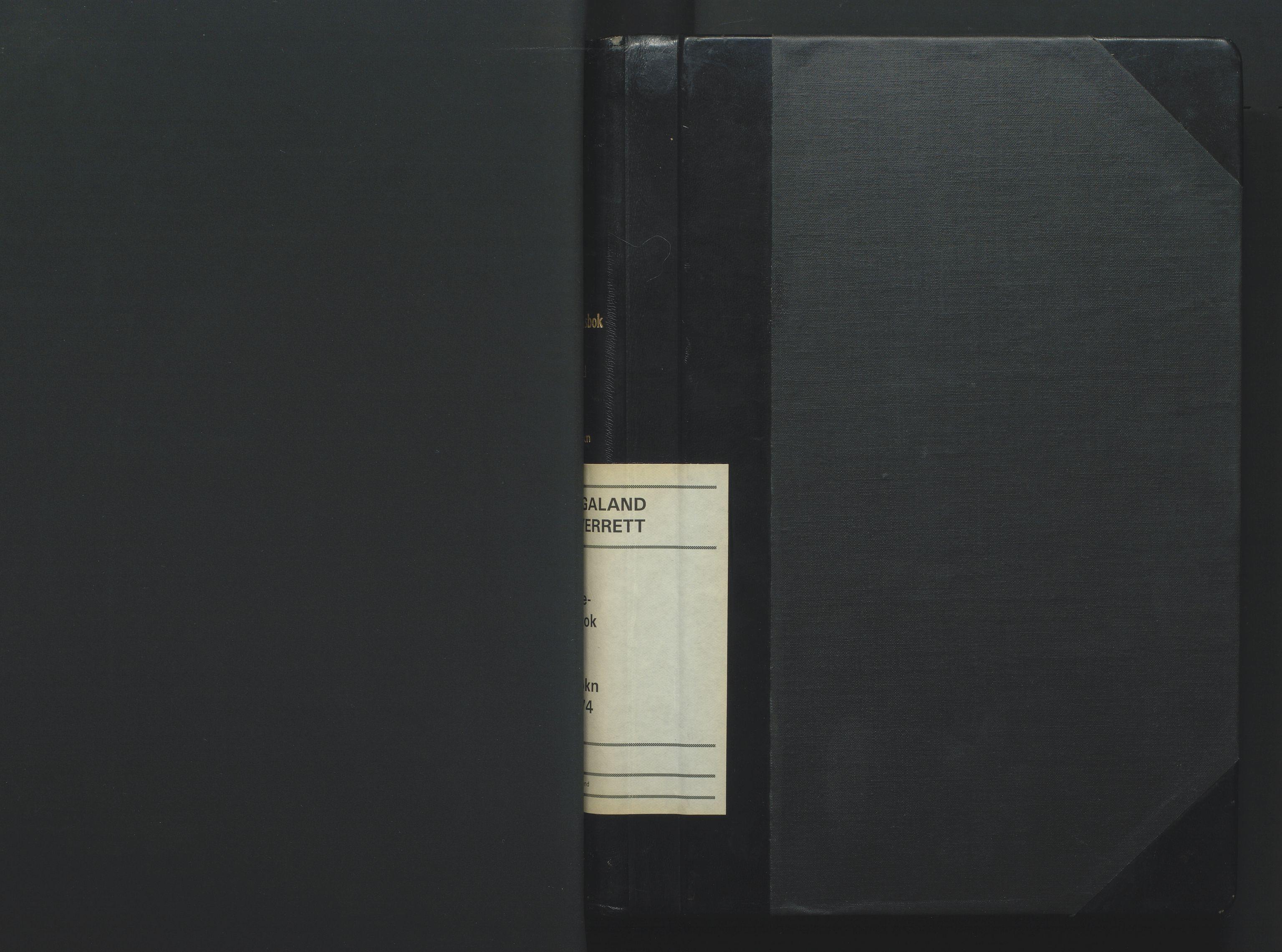 SAK, Jordskifteoverdommeren i Agder og Rogaland, F/Fa/Fab/L0003: Jordskifteoverrettsbok Marnar jordskiftesokn nr 3, 1970-1974