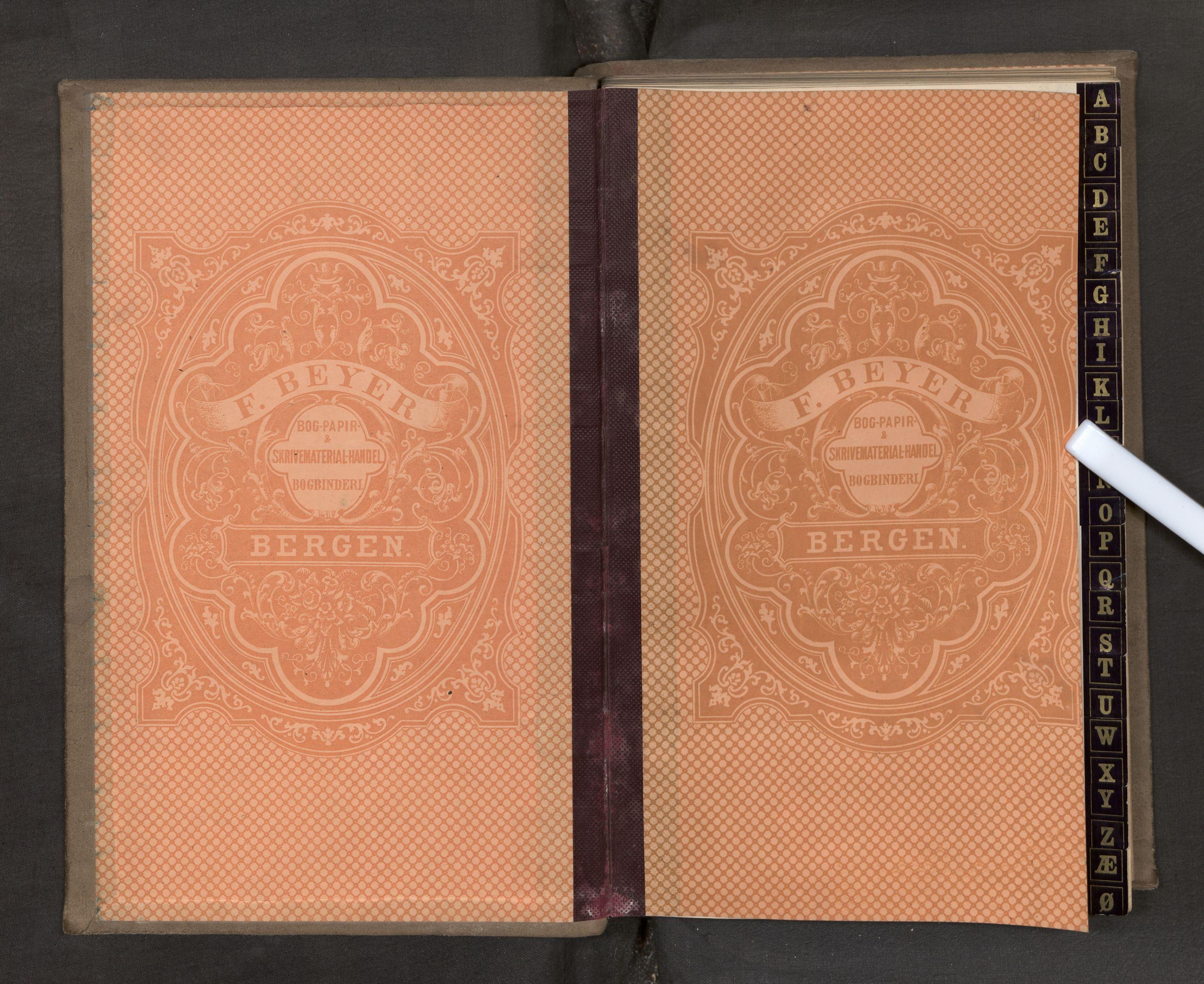 SAB, Jondal Skipsassuranseforening, E/L0024: Kontobok 1, 1869-1977