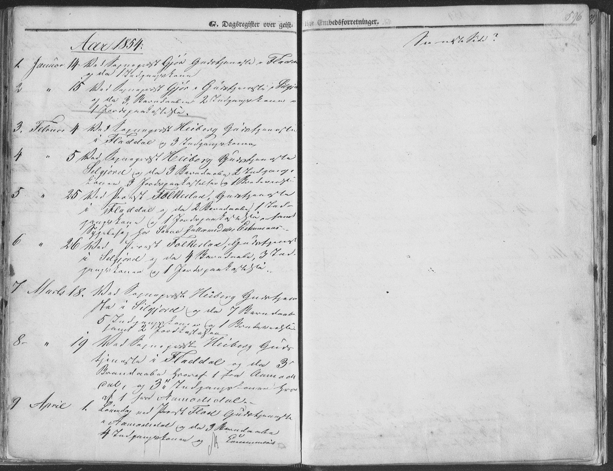 SAKO, Seljord kirkebøker, F/Fa/L012b: Ministerialbok nr. I 12B, 1850-1865, s. 596