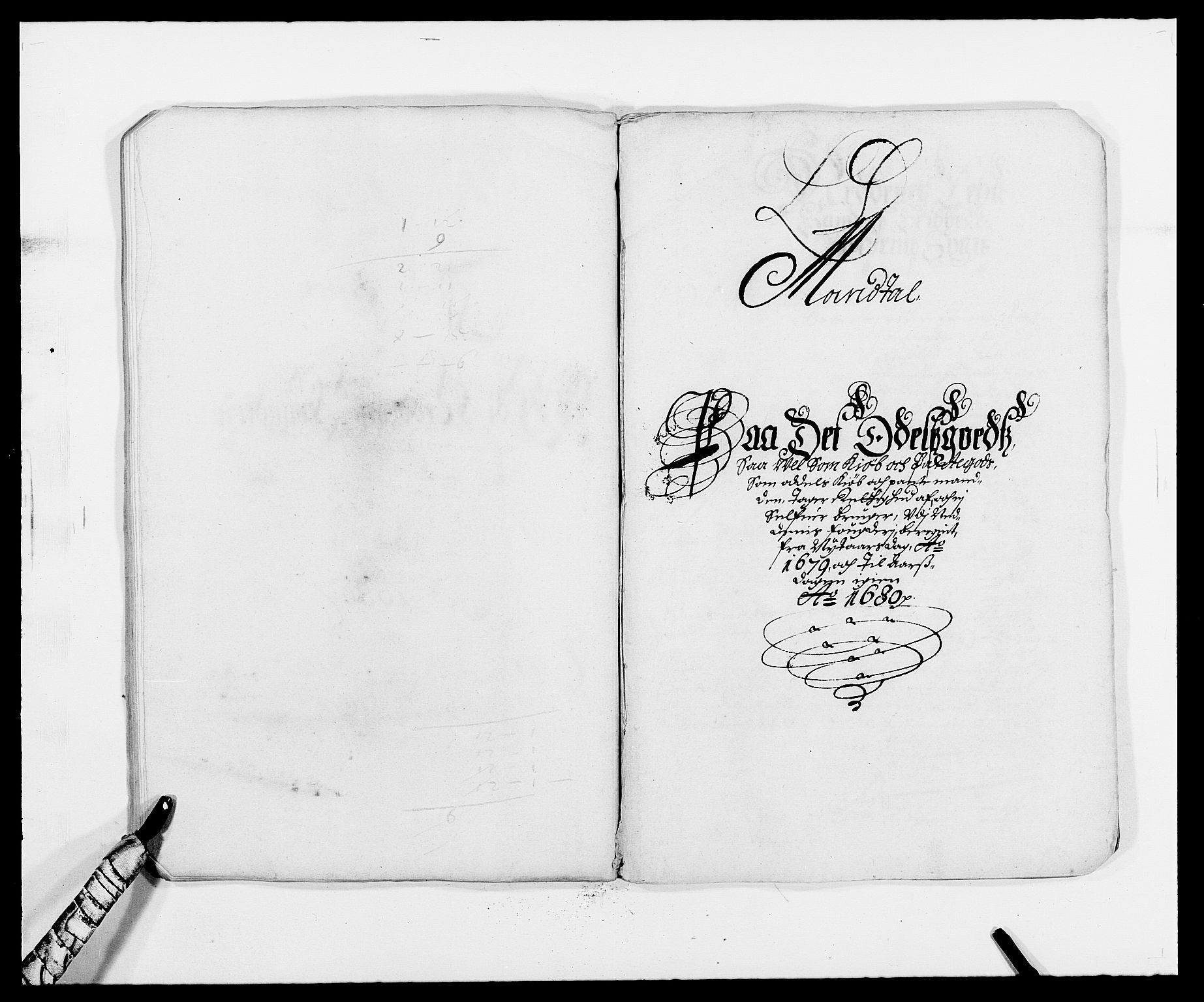 RA, Rentekammeret inntil 1814, Reviderte regnskaper, Fogderegnskap, R39/L2303: Fogderegnskap Nedenes, 1679, s. 73