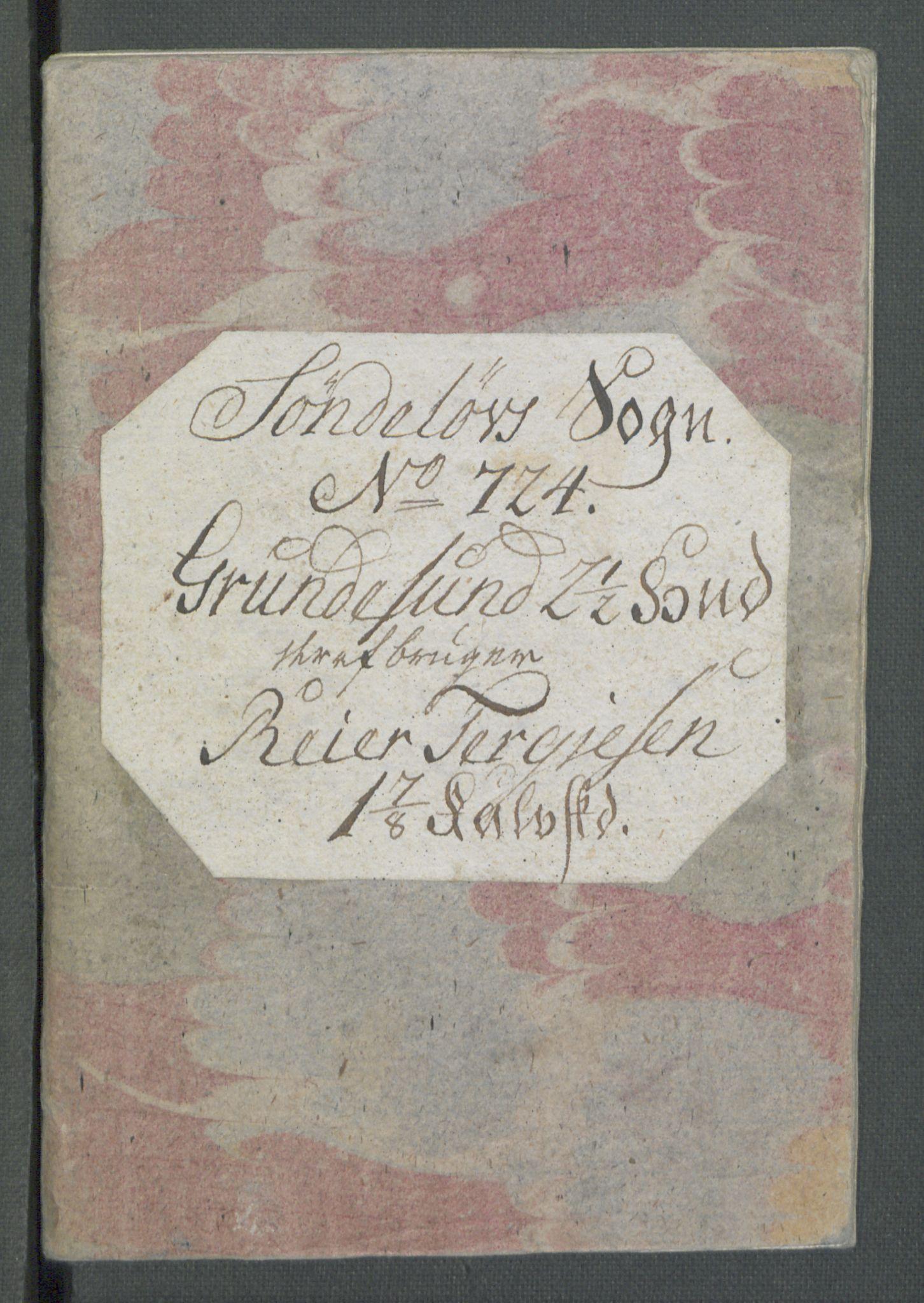 RA, Rentekammeret inntil 1814, Realistisk ordnet avdeling, Od/L0001: Oppløp, 1786-1769, s. 327
