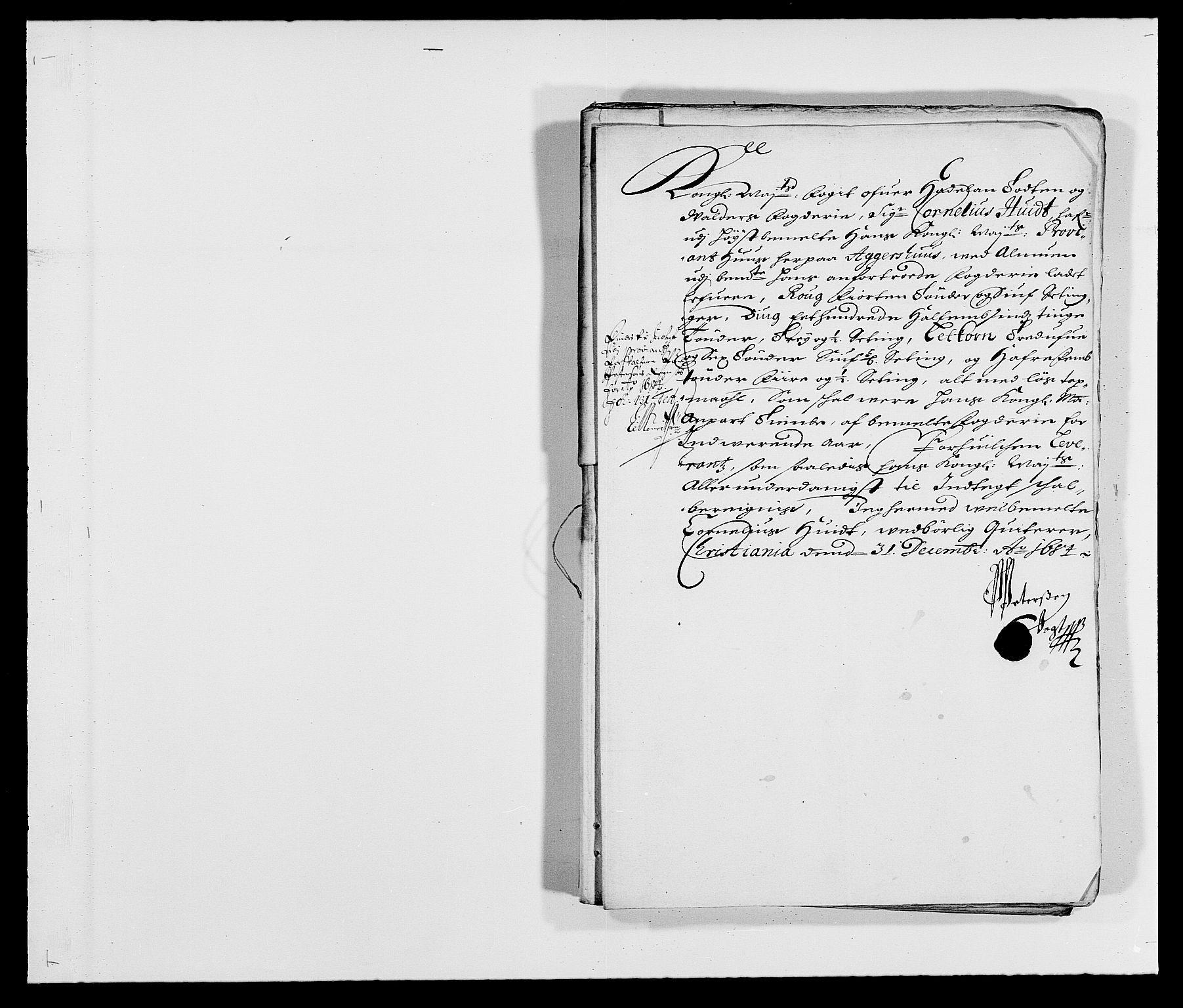 RA, Rentekammeret inntil 1814, Reviderte regnskaper, Fogderegnskap, R18/L1283: Fogderegnskap Hadeland, Toten og Valdres, 1684, s. 277