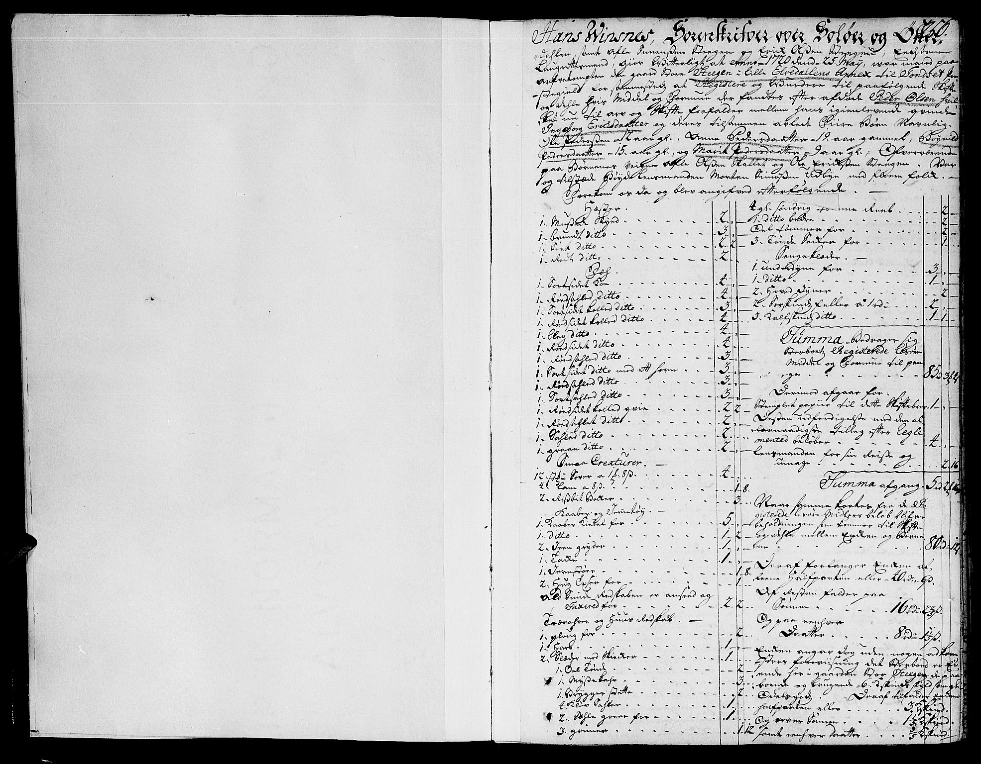 SAH, Solør og Østerdalen sorenskriveri, J/Ja/L0003A: Skifteprotokoll, 1716-1725, s. 256a