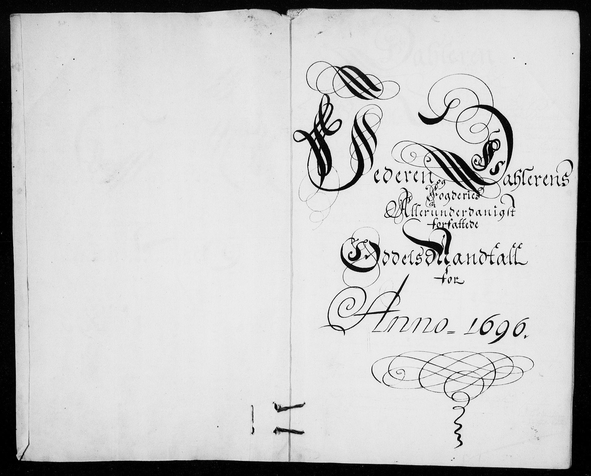 RA, Rentekammeret inntil 1814, Reviderte regnskaper, Fogderegnskap, R46/L2728: Fogderegnskap Jæren og Dalane, 1694-1696, s. 434