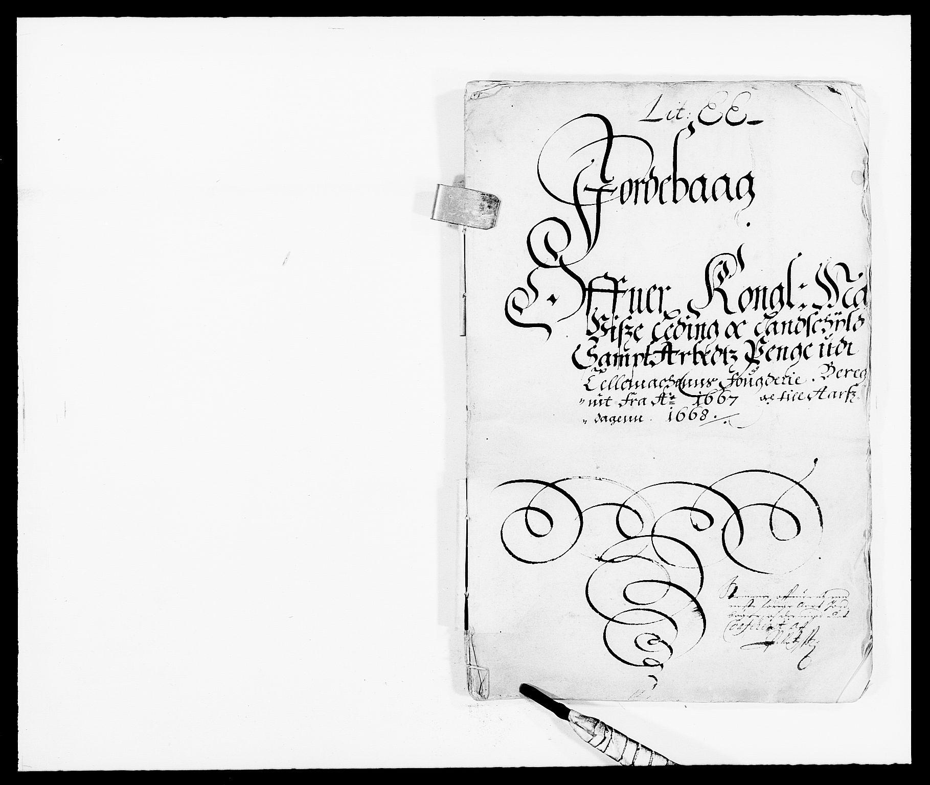 RA, Rentekammeret inntil 1814, Reviderte regnskaper, Fogderegnskap, R35/L2057: Fogderegnskap Øvre og Nedre Telemark, 1666-1667, s. 450