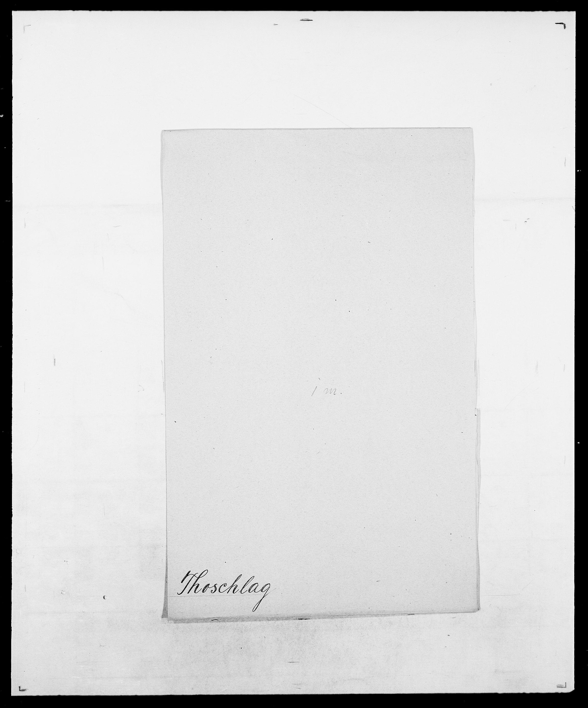 SAO, Delgobe, Charles Antoine - samling, D/Da/L0038: Svanenskjold - Thornsohn, s. 932