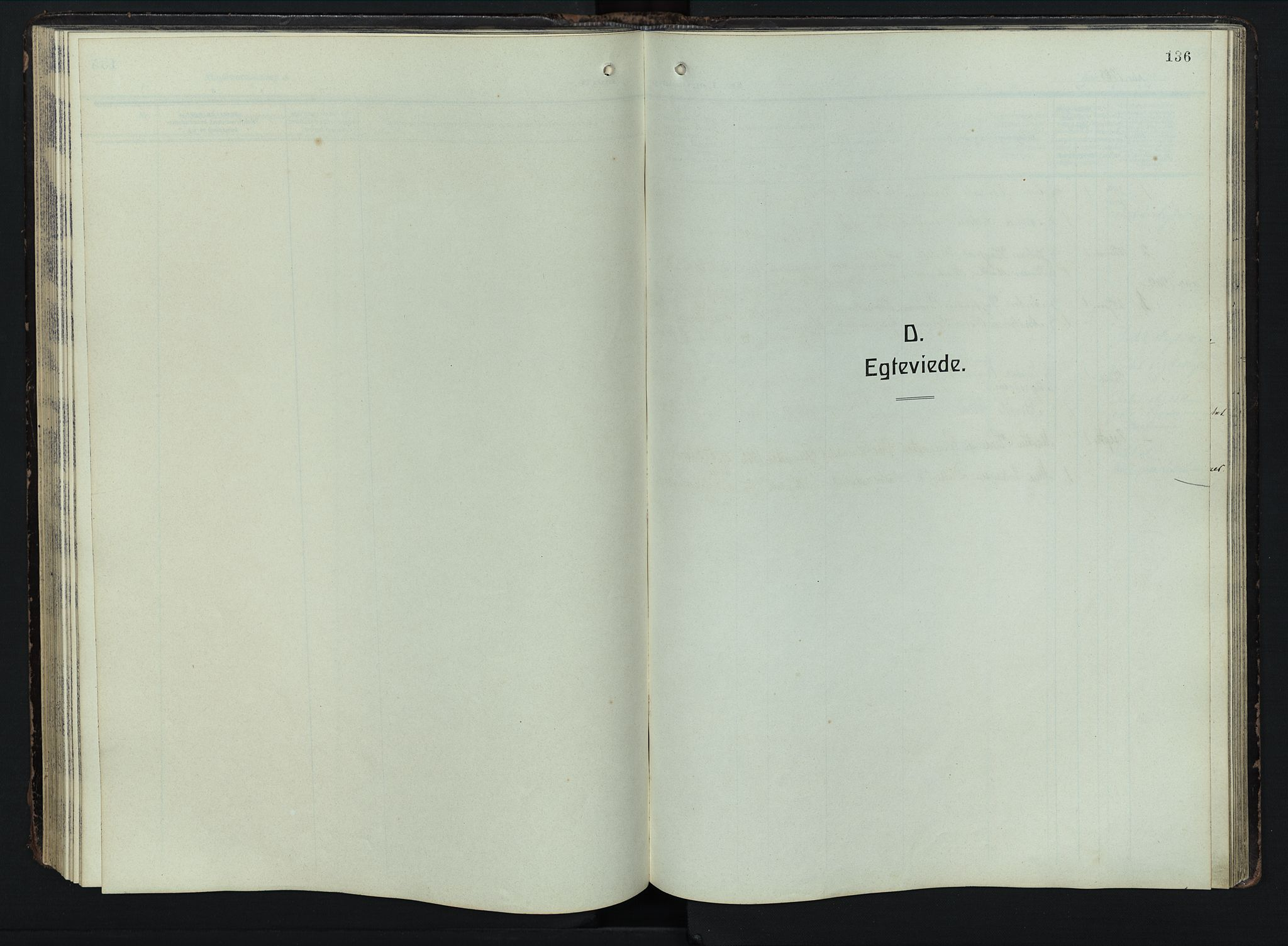 SAH, Østre Toten prestekontor, Klokkerbok nr. 9, 1908-1956, s. 136