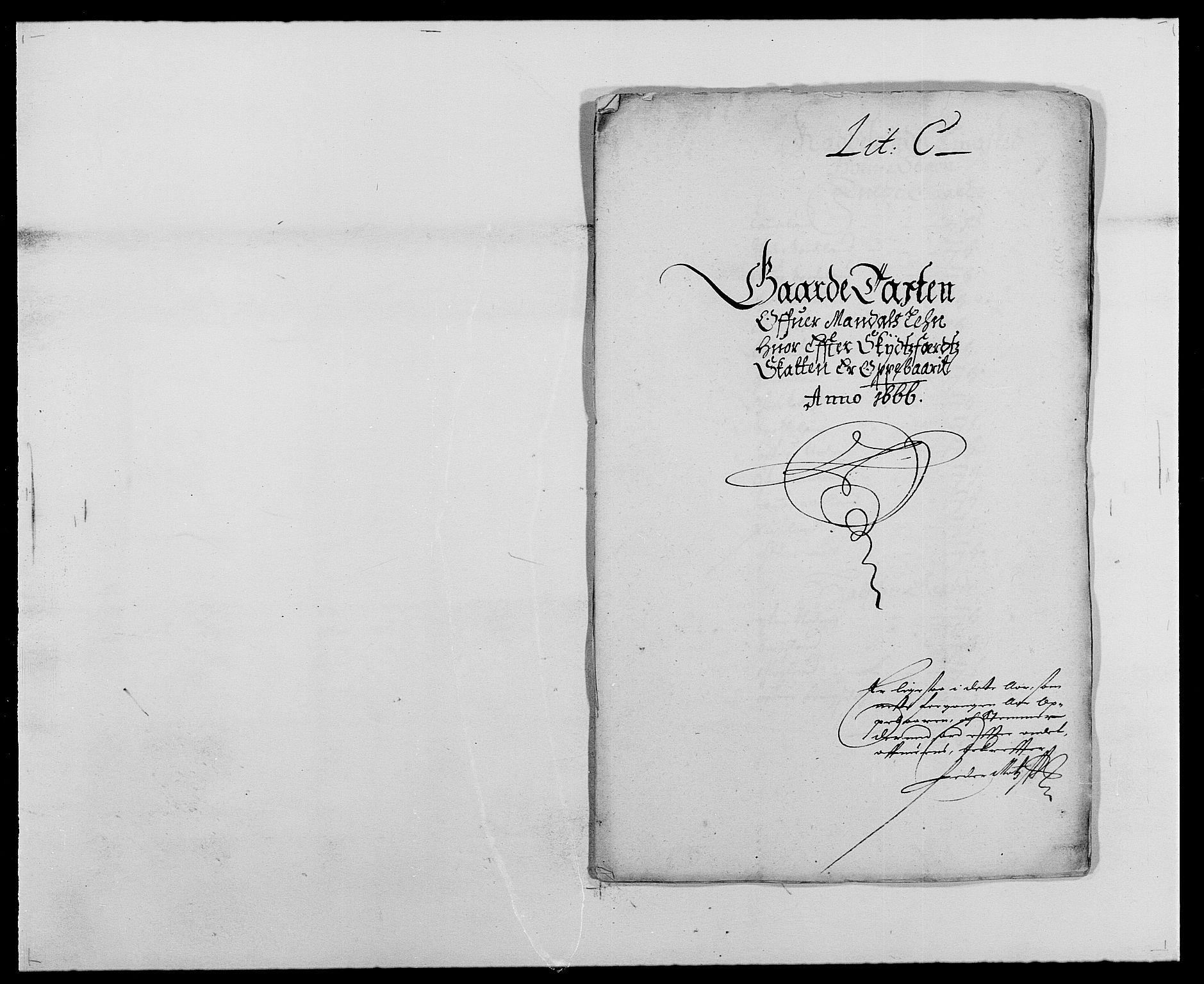 RA, Rentekammeret inntil 1814, Reviderte regnskaper, Fogderegnskap, R42/L2537: Mandal fogderi, 1664-1666, s. 243