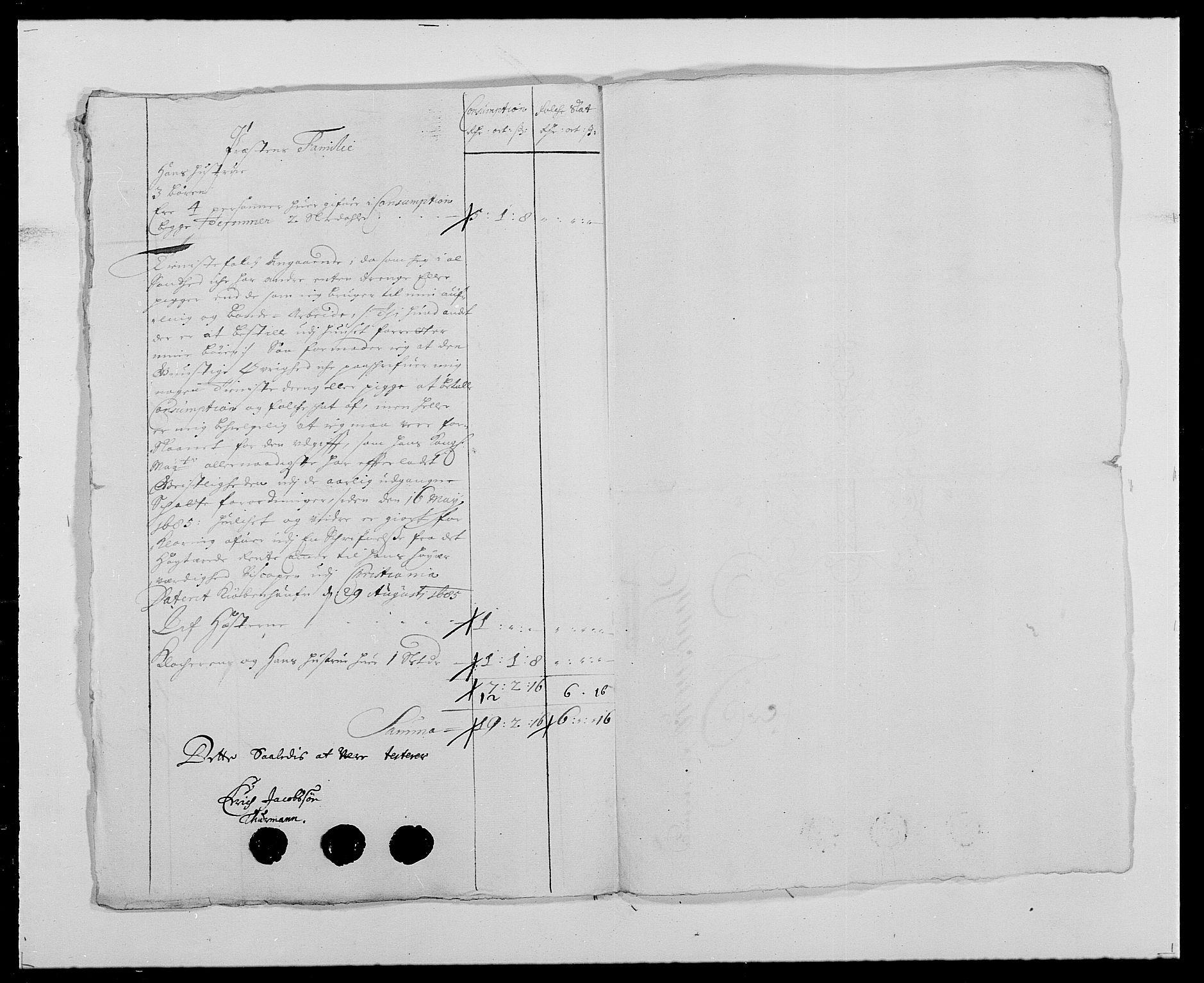 RA, Rentekammeret inntil 1814, Reviderte regnskaper, Fogderegnskap, R24/L1573: Fogderegnskap Numedal og Sandsvær, 1687-1691, s. 330