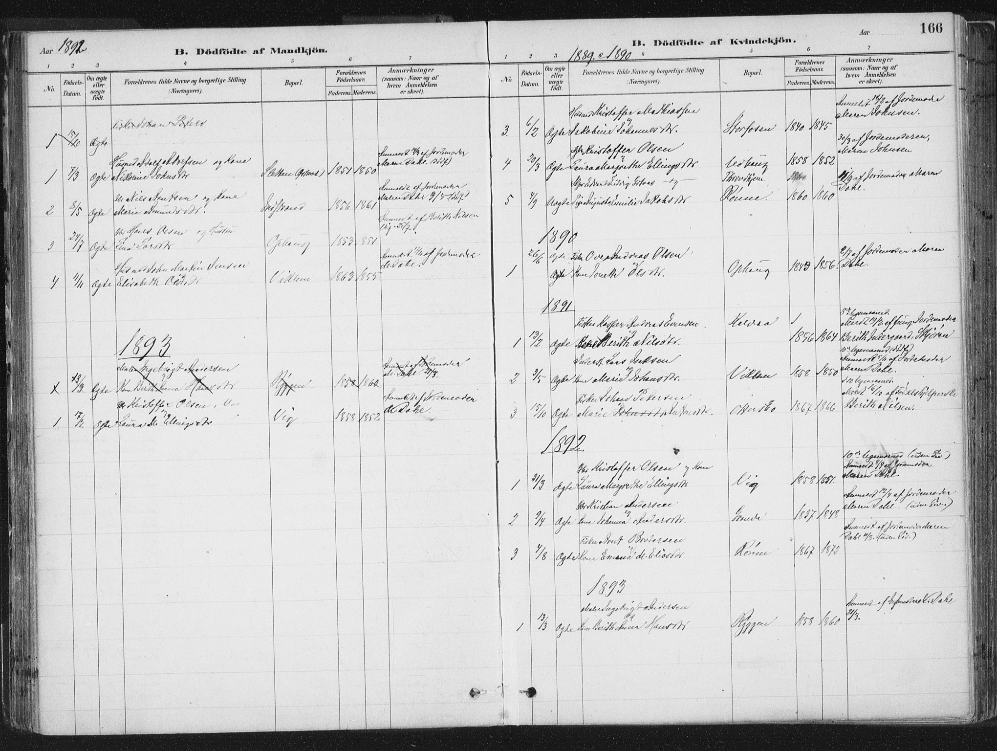 SAT, Ministerialprotokoller, klokkerbøker og fødselsregistre - Sør-Trøndelag, 659/L0739: Ministerialbok nr. 659A09, 1879-1893, s. 166