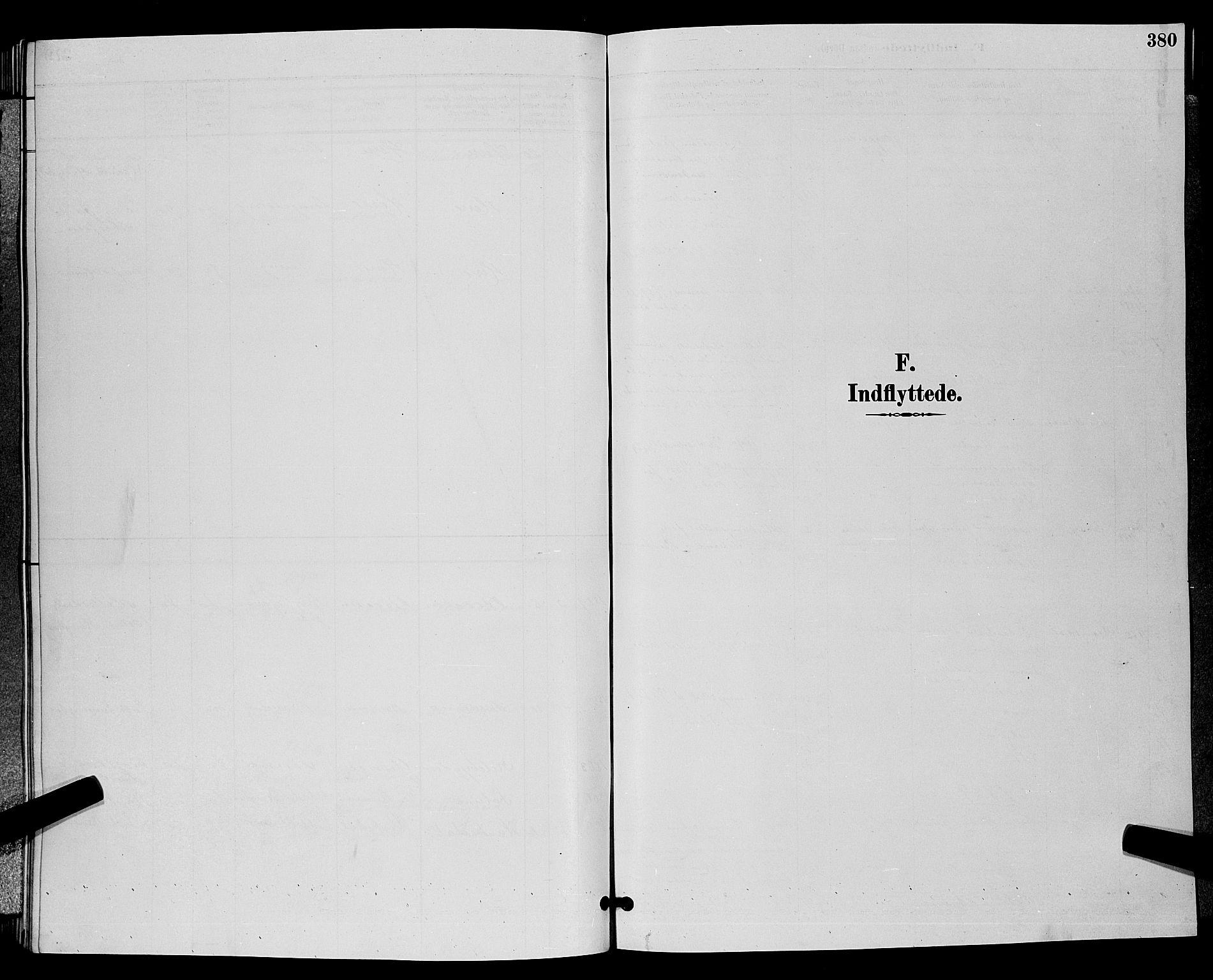 SAKO, Bamble kirkebøker, G/Ga/L0009: Klokkerbok nr. I 9, 1888-1900, s. 380