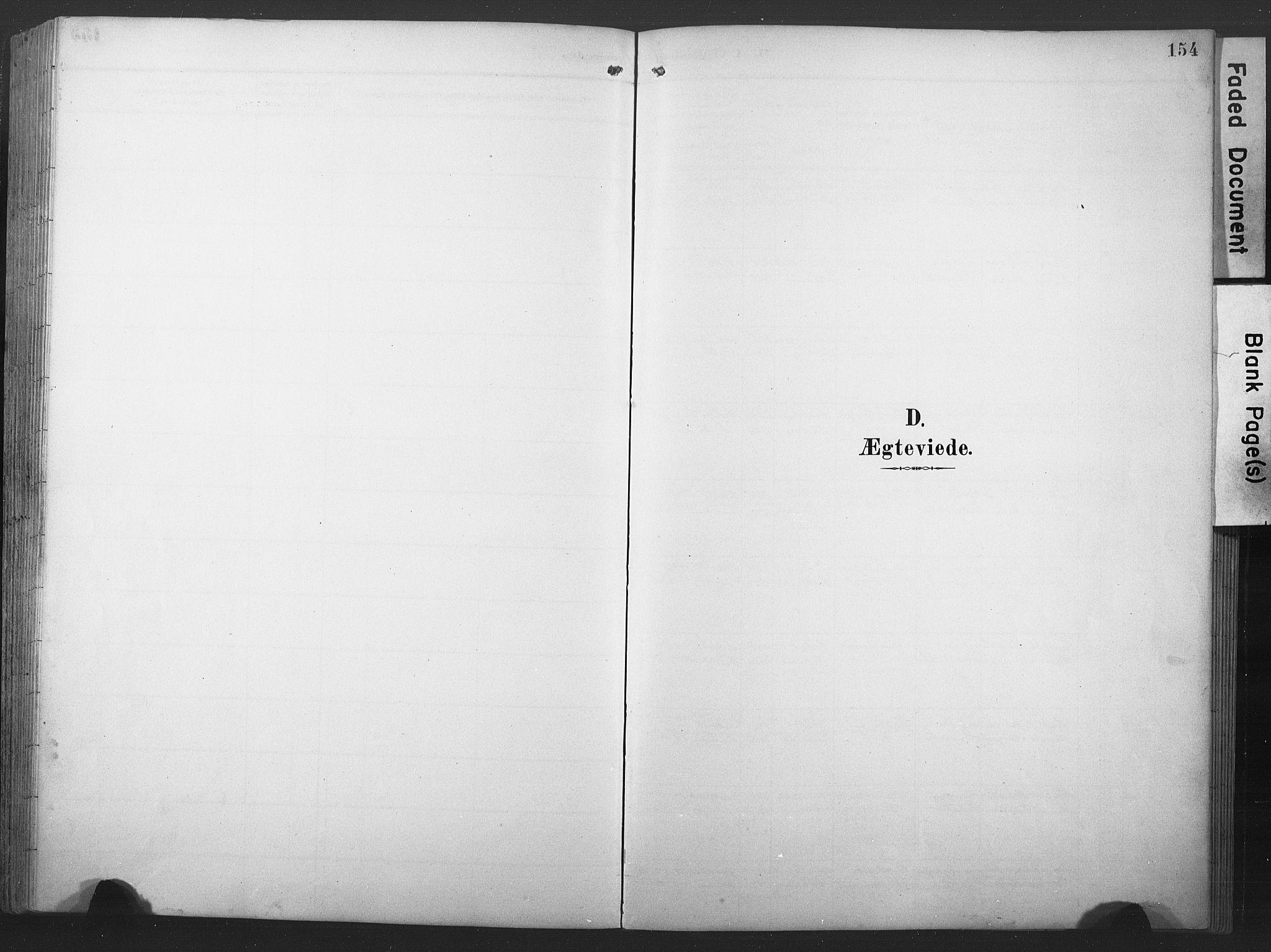 SAT, Ministerialprotokoller, klokkerbøker og fødselsregistre - Nord-Trøndelag, 789/L0706: Klokkerbok nr. 789C01, 1888-1931, s. 154